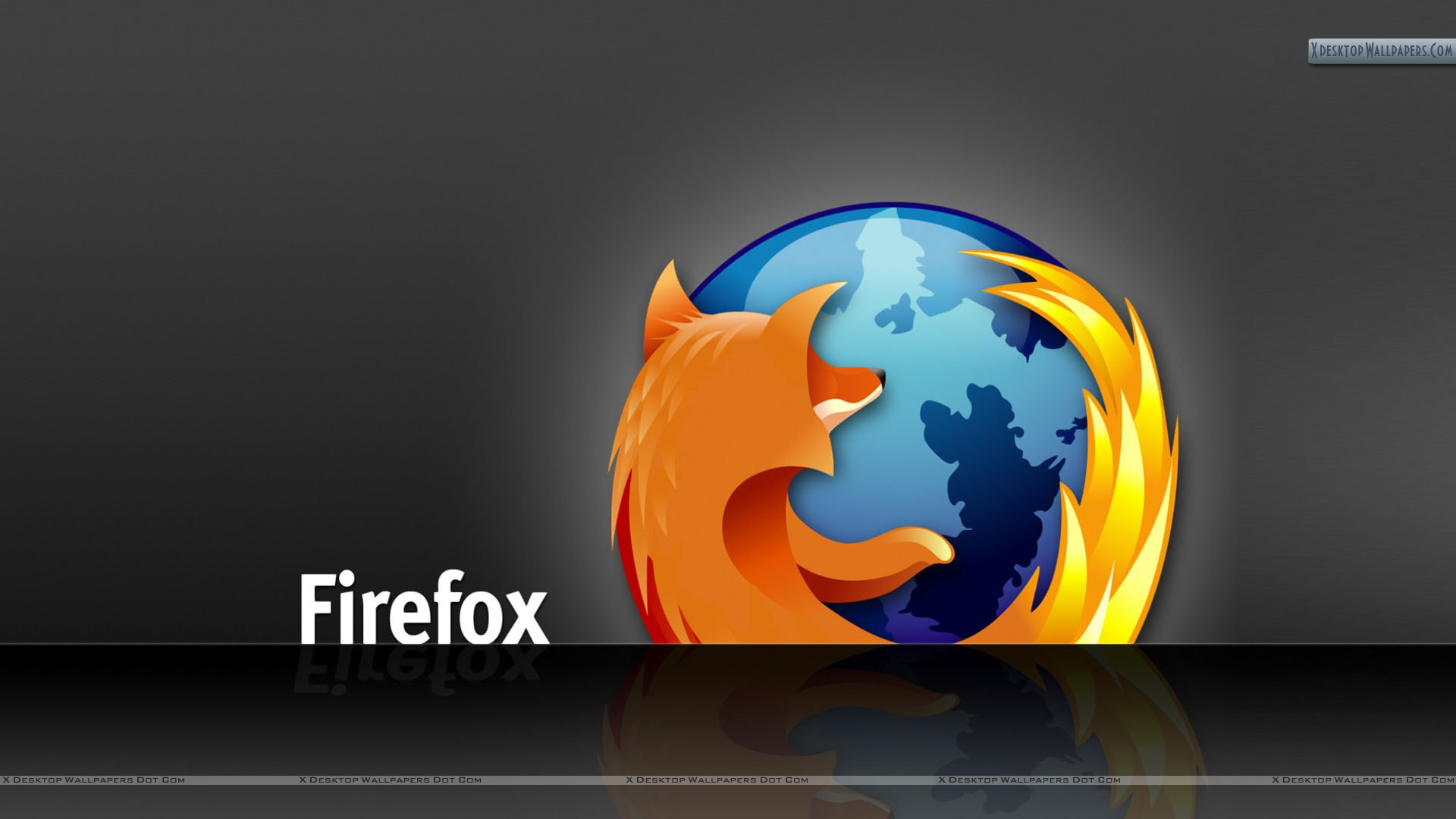 firefox awesome desktop wallpaper on black background wallpaper