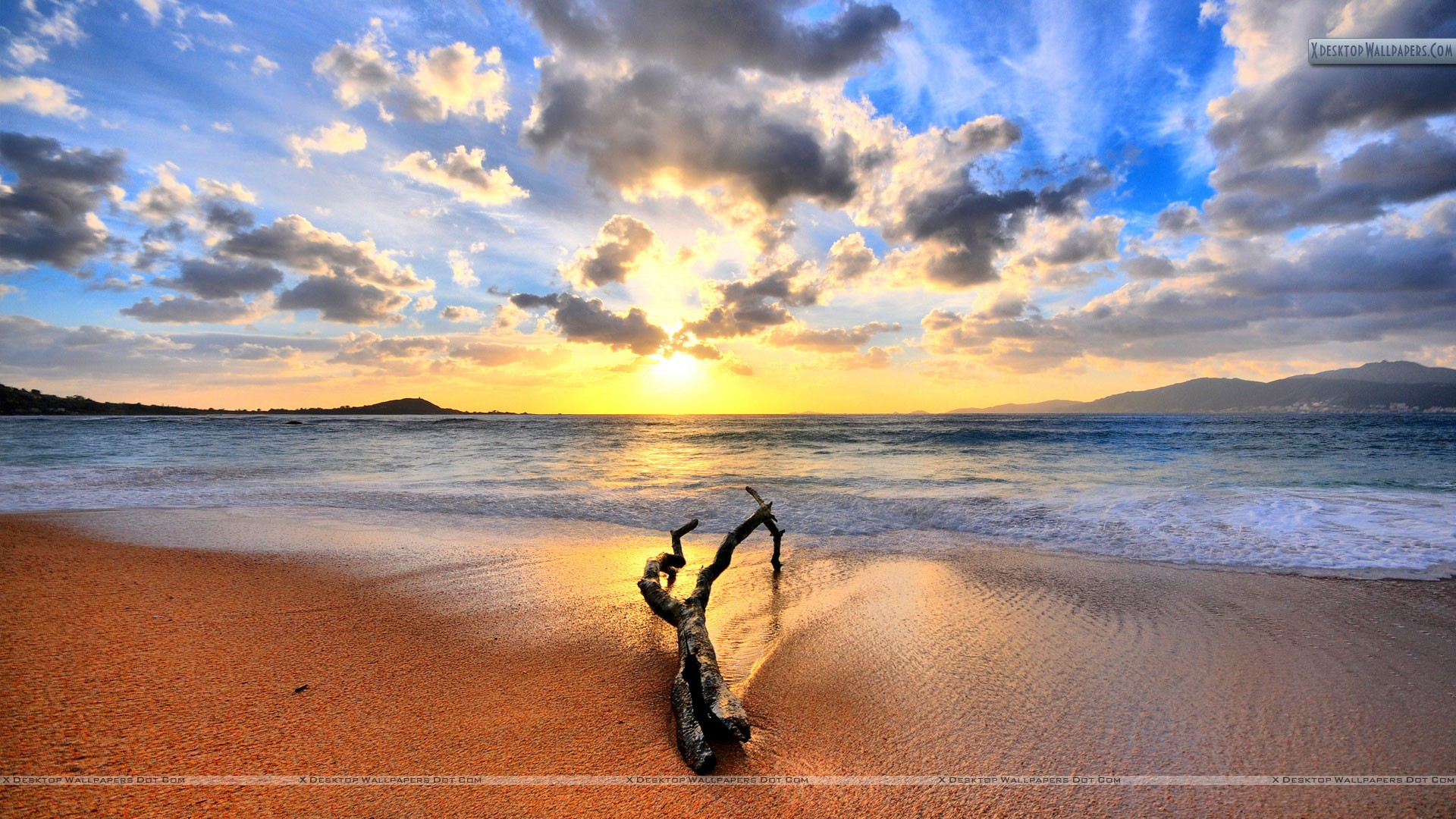You Are Viewing Wallpaper Titled Sunset Beach