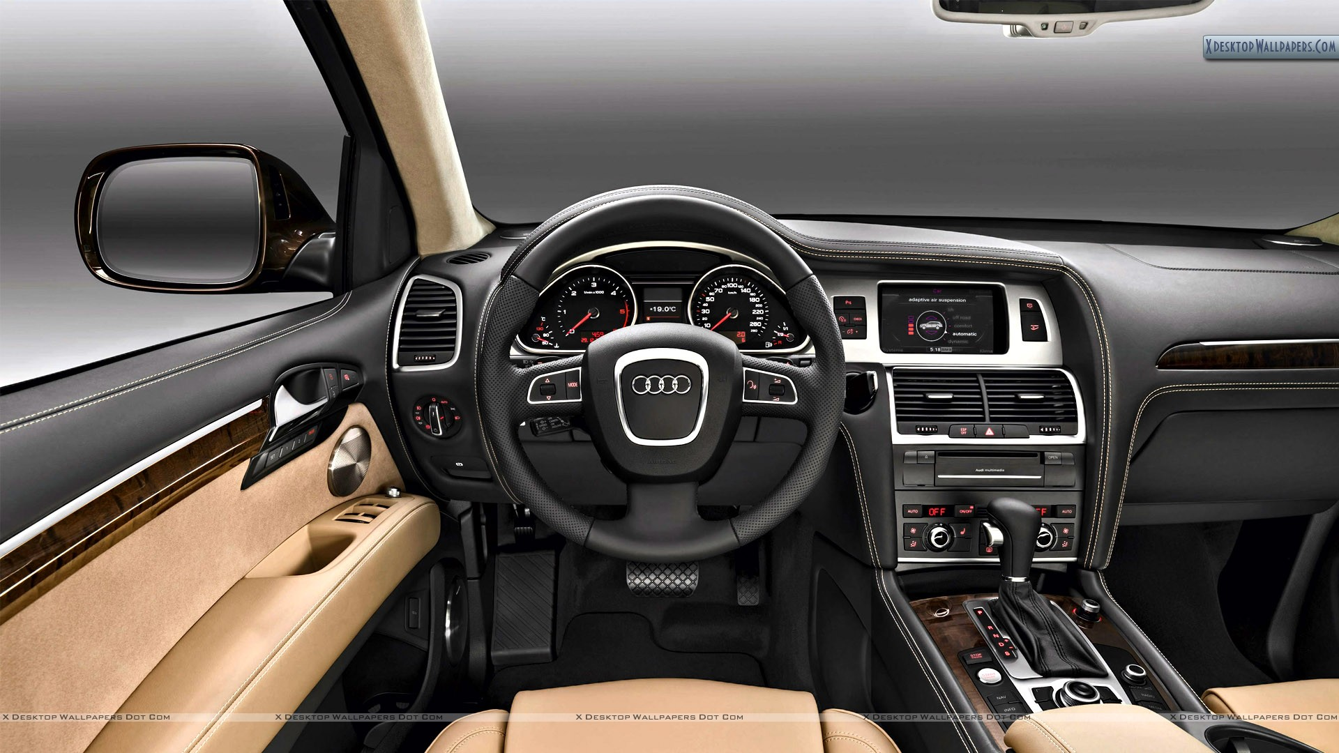 2010 audi q7 30 tdi interior wallpaper. Black Bedroom Furniture Sets. Home Design Ideas