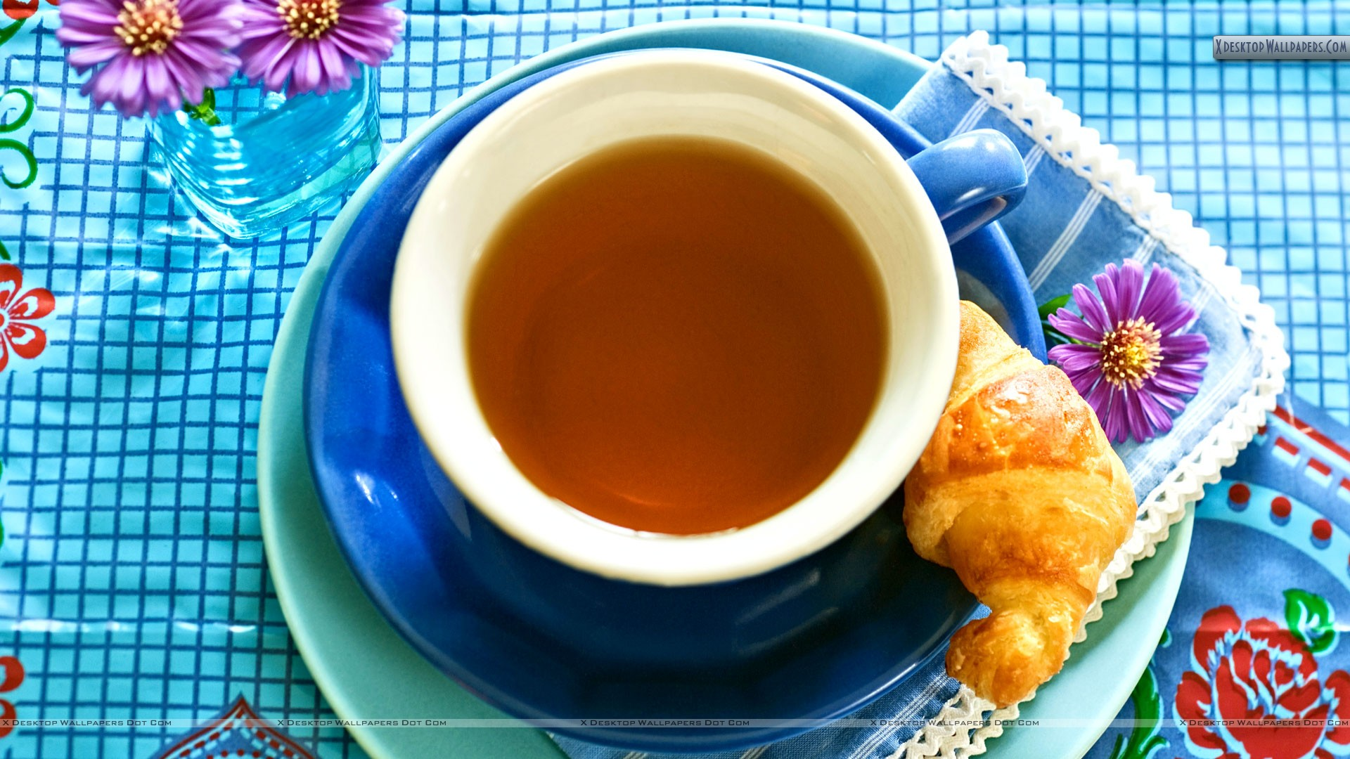 You Are Viewing Wallpaper Titled Fresh Tea Of Morning