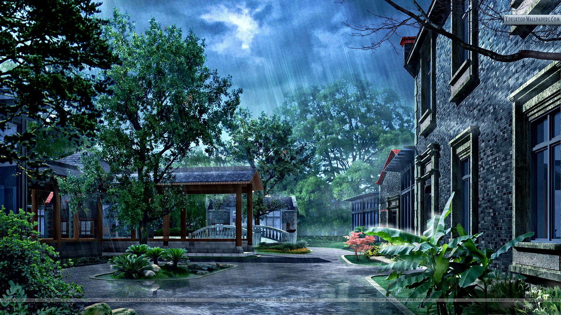 You Are Viewing Wallpaper Titled Rainy Day