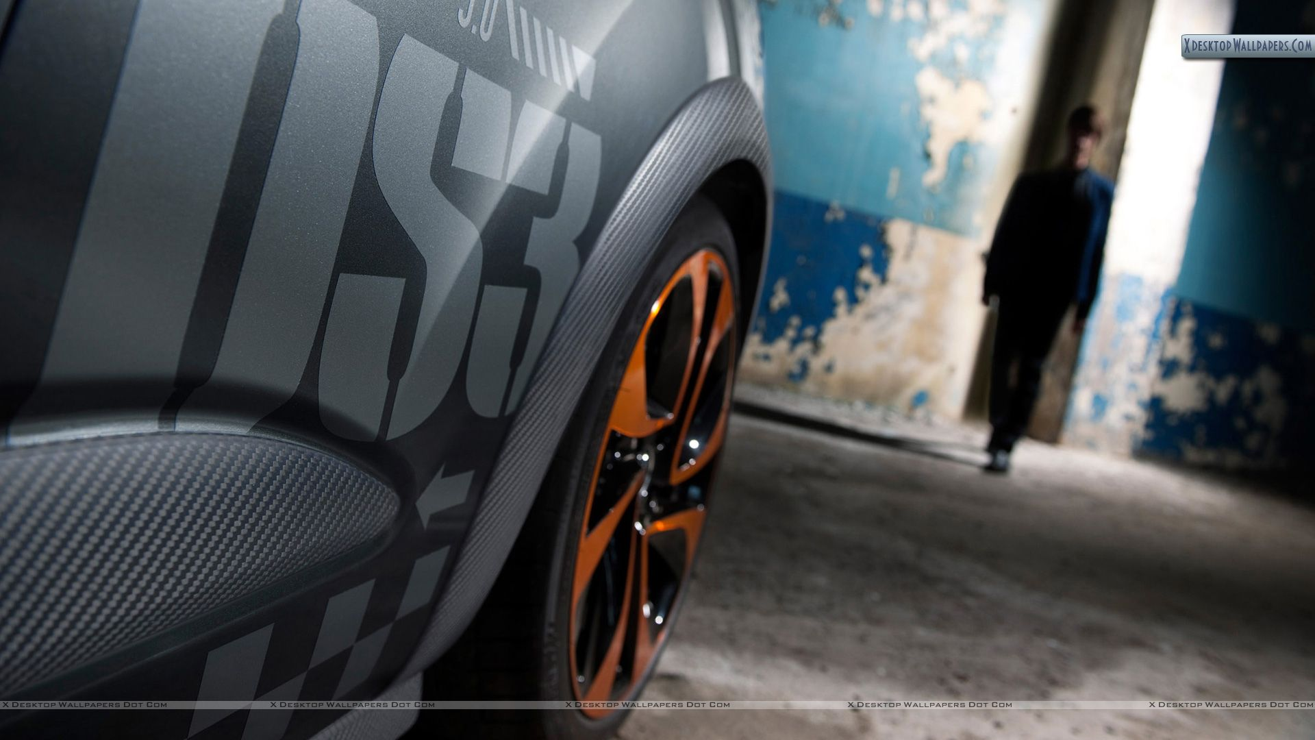 citroen ds3 racing tyre closeup wallpaper. Black Bedroom Furniture Sets. Home Design Ideas