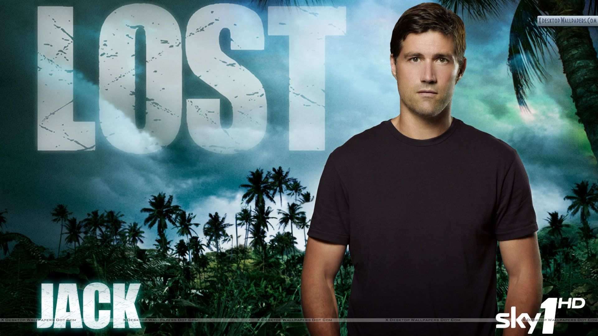 jack – lost tv series character wallpaper