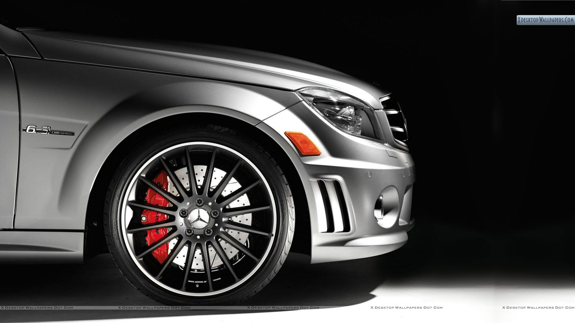 "You are viewing wallpaper titled ""Mercedes C63 AMG Affalterbach Edition Tire & Alloy"" from ..."