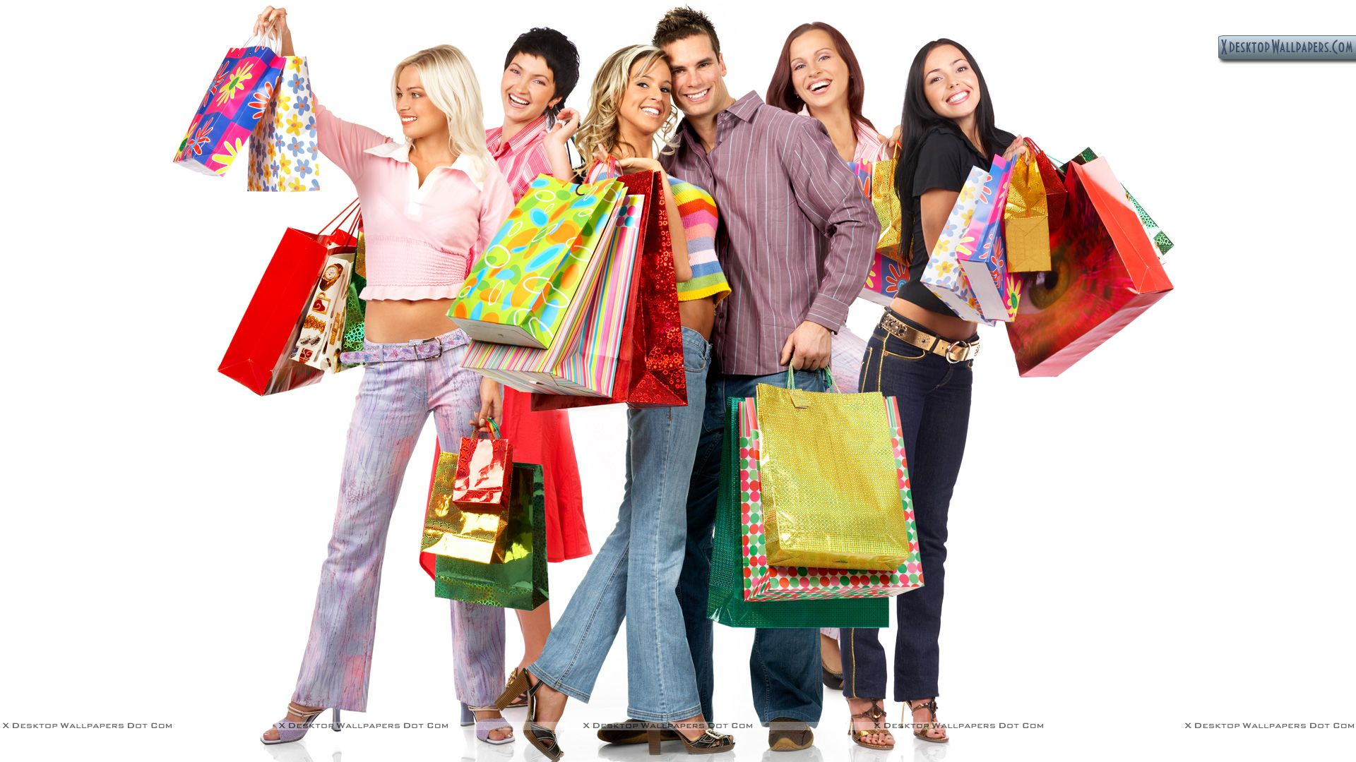 Shopping Shopping And Shopping Wallpaper