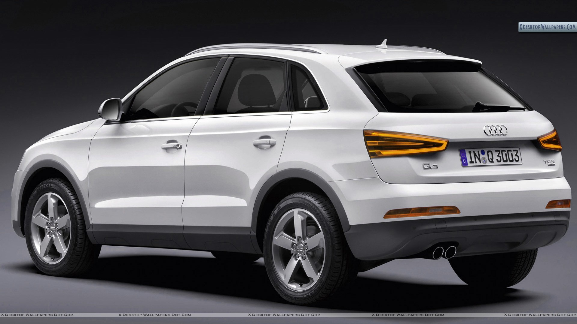 Audi White 2012 Q3 Wallpaper