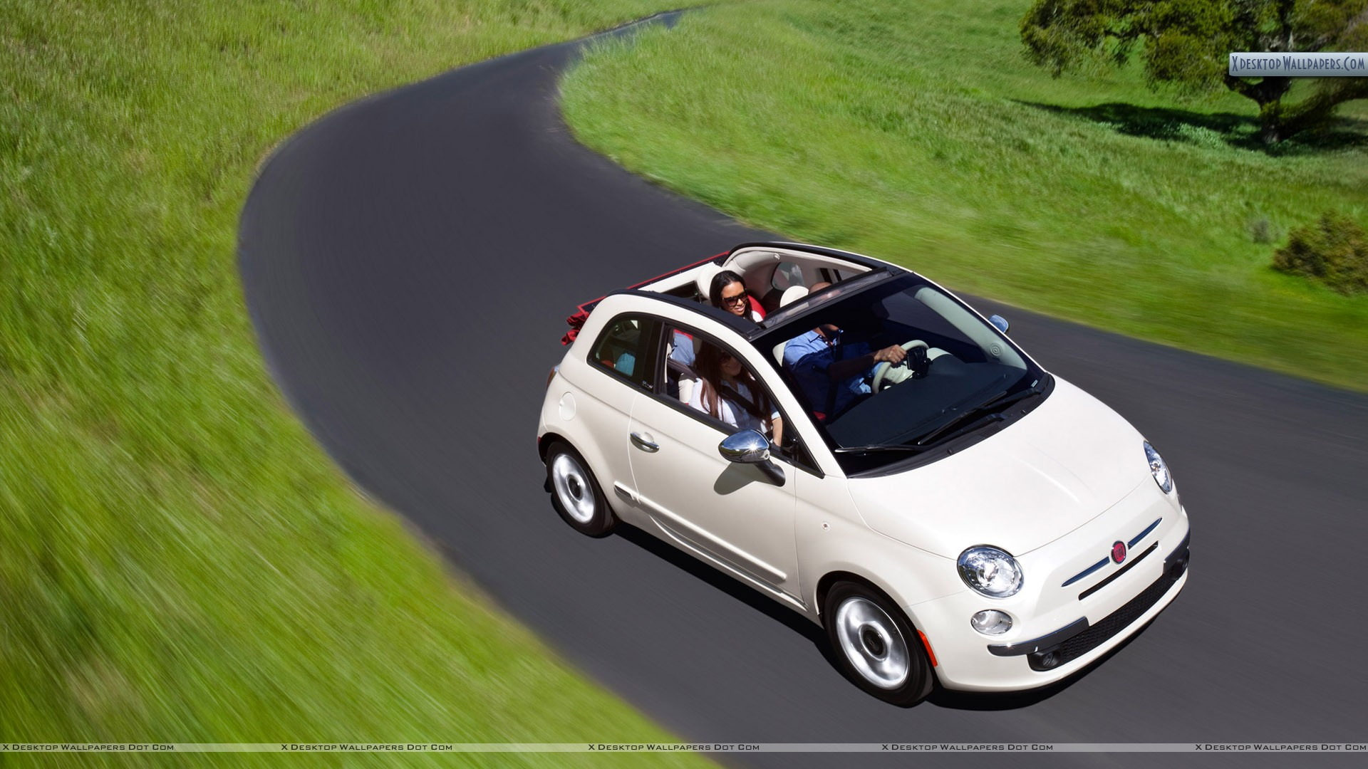 fiat 500 cabrio wallpapers photos images in hd. Black Bedroom Furniture Sets. Home Design Ideas