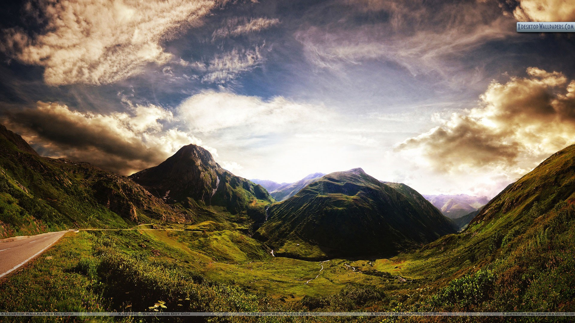 Old mountains scenery wallpaper old mountains scenery voltagebd Images