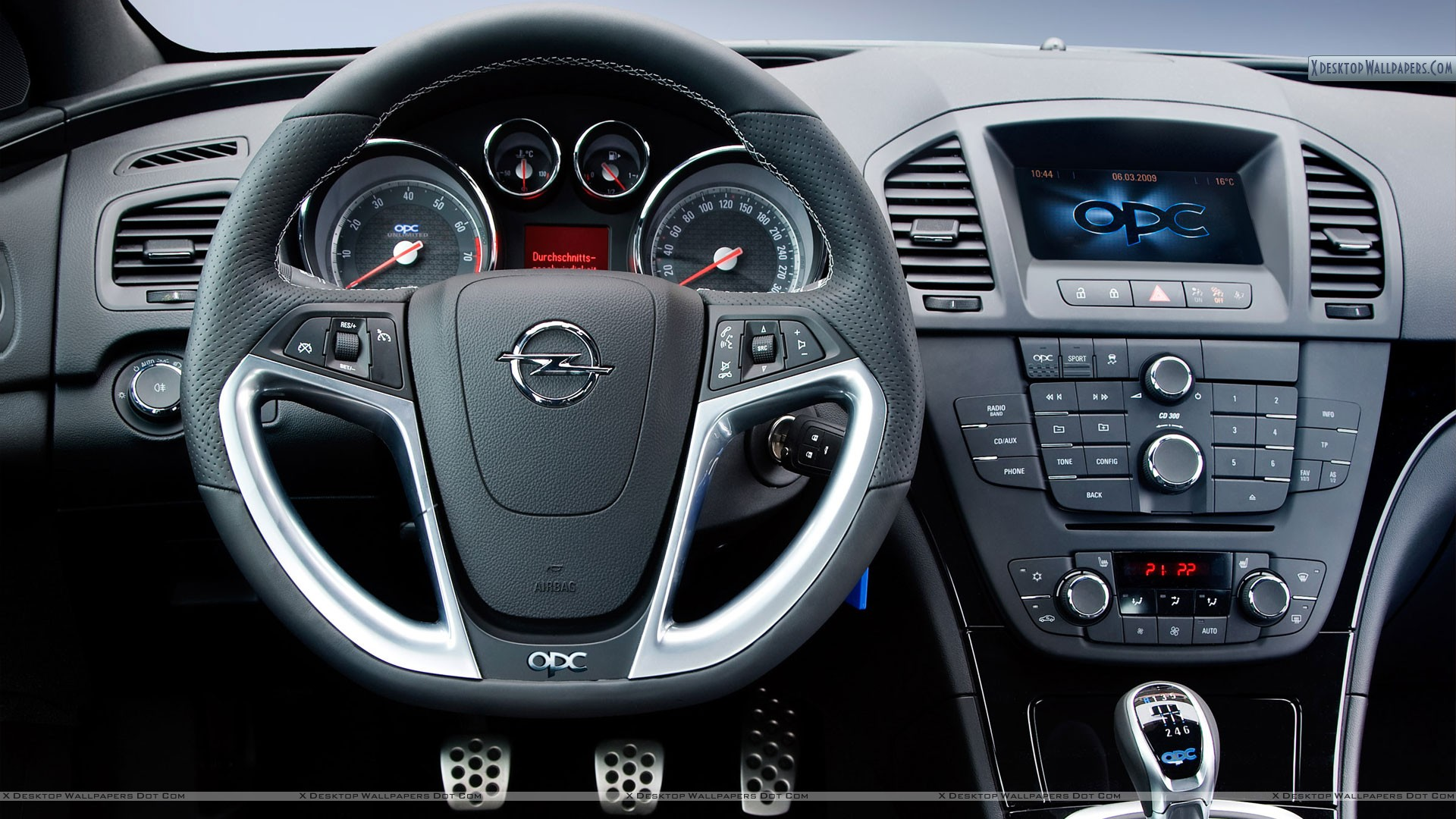 Opel Insignia Opc Unlimited Interior Picture Wallpaper