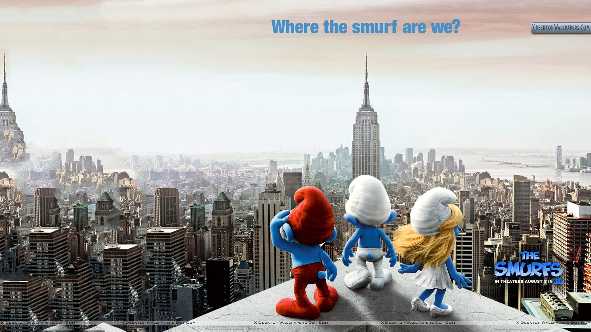 Befuddling Movies: The Smurfs (2011)