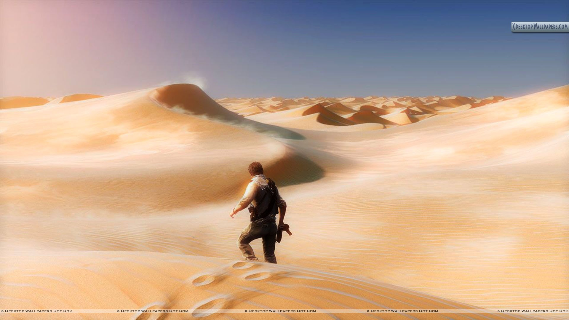 You are viewing wallpaper Uncharted 3 Wallpaper Desert