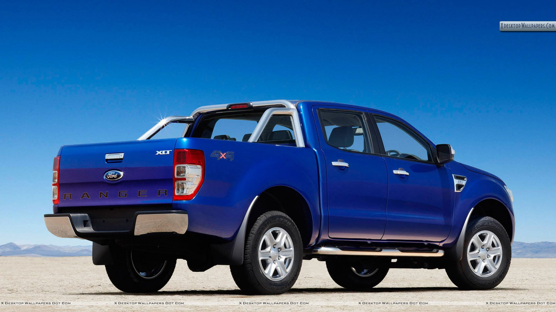 2011 ford ranger wildtrak side view blue color wallpaper. Black Bedroom Furniture Sets. Home Design Ideas
