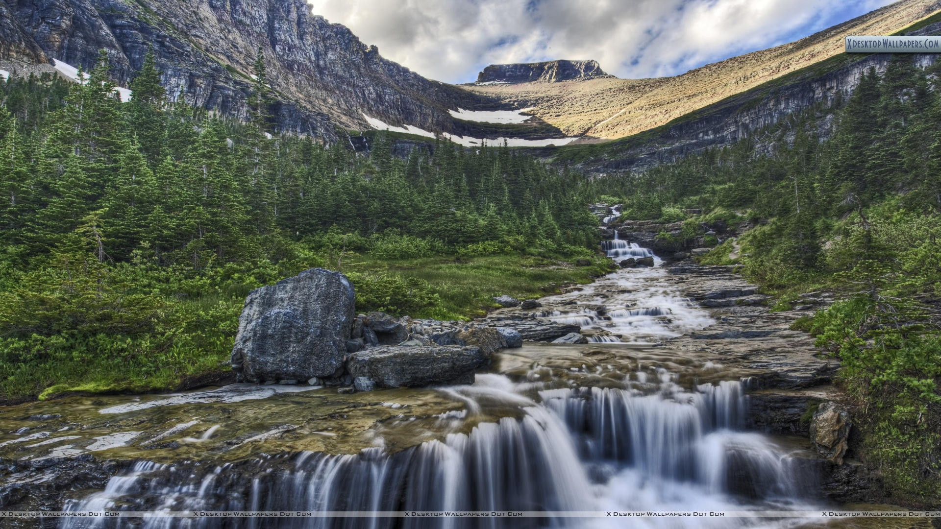 rivers in montana map with Cascading Waterfall Glacier National Park Montana 4663 on Dry Falls as well Pasco in addition The Best National Parks For Landscape Photography moreover New Years Eve In The Yaak additionally Canton Of Ticino Map With Cities And Towns.