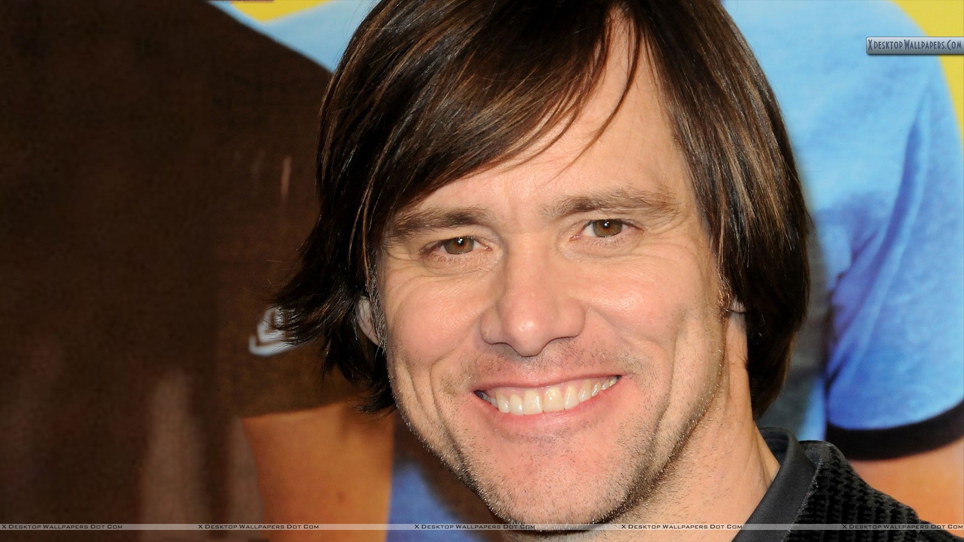 Jim Carrey Smiling Face Closeup