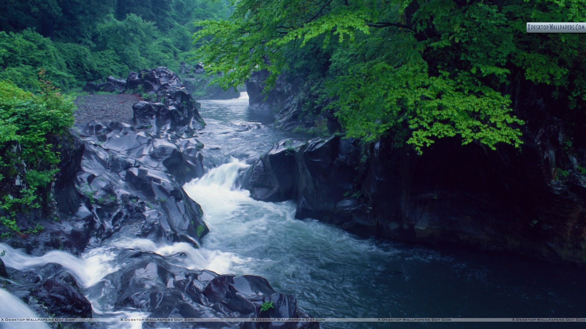 flowing river wallpaper - photo #11