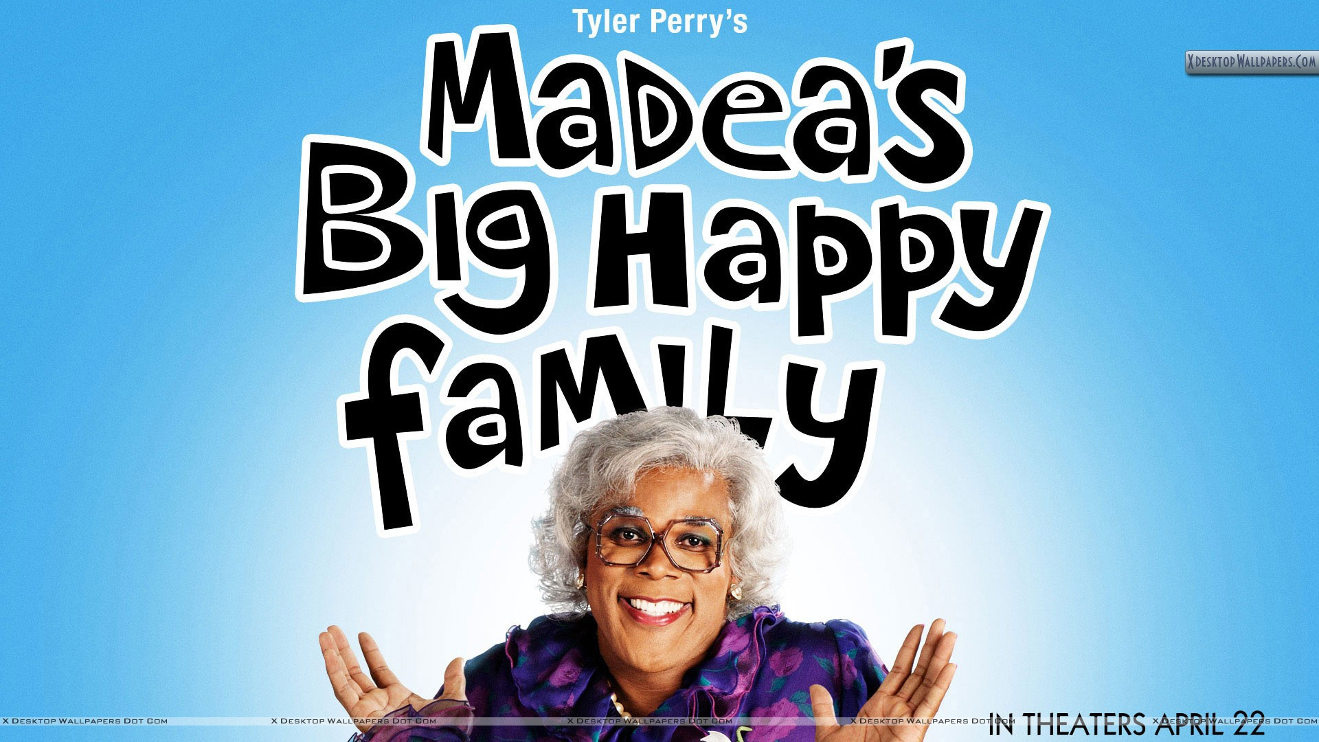 Cover Poster Of Madea Big Happy Family Wallpaper