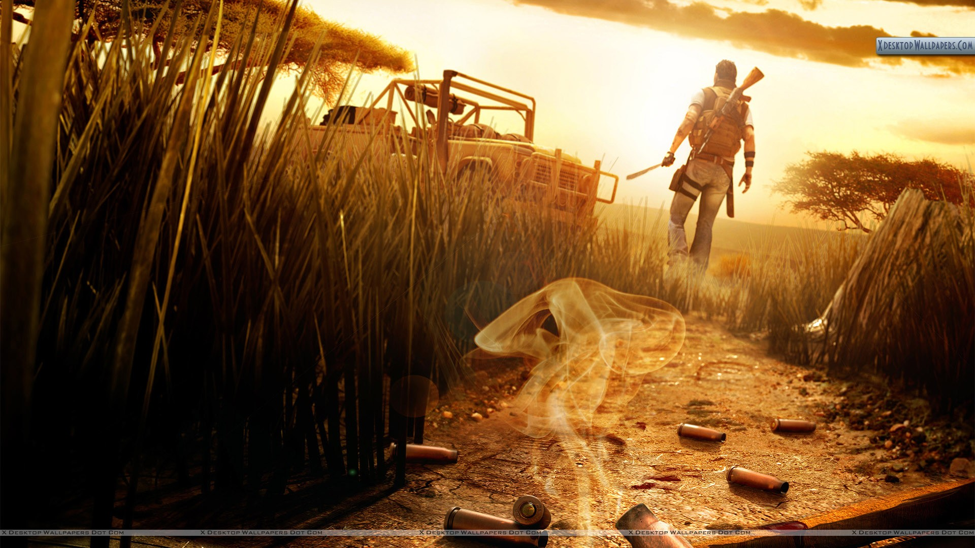 Far Cry 2 Cover Poster Wallpaper