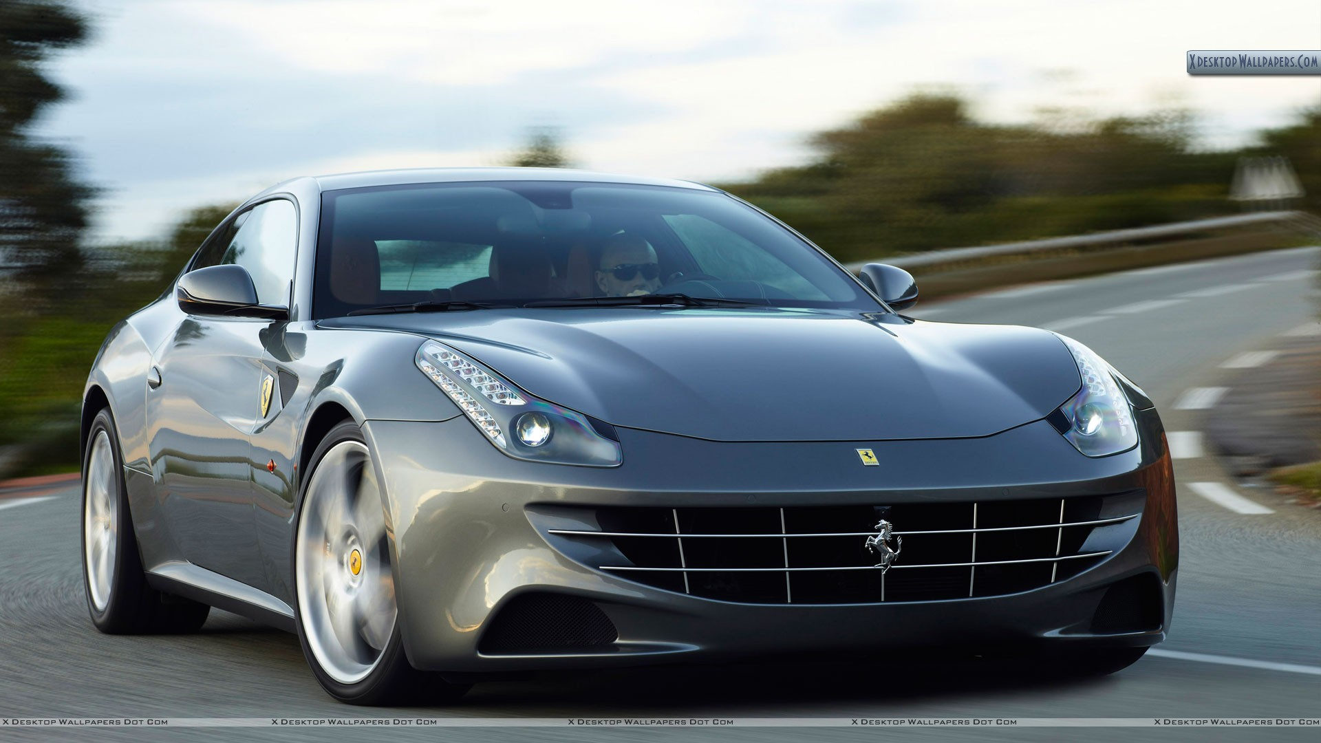 Ferrari 458 Italia in Grey Color. 154 Downloads, Added 51 days ago
