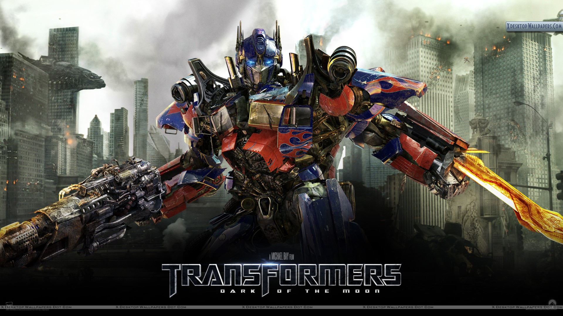 transformers 3 dark of the moon – ready to fight wallpaper