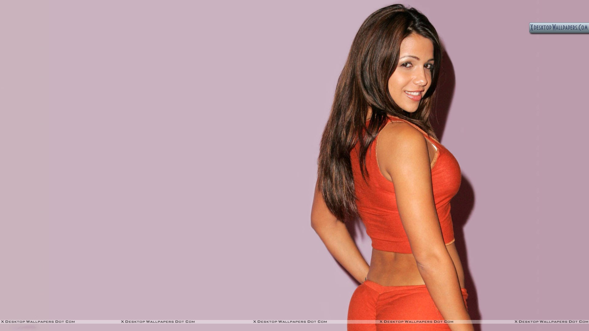 Vida guerra side back pose in red dress wallpaper you are viewing wallpaper titled vida guerra voltagebd Image collections