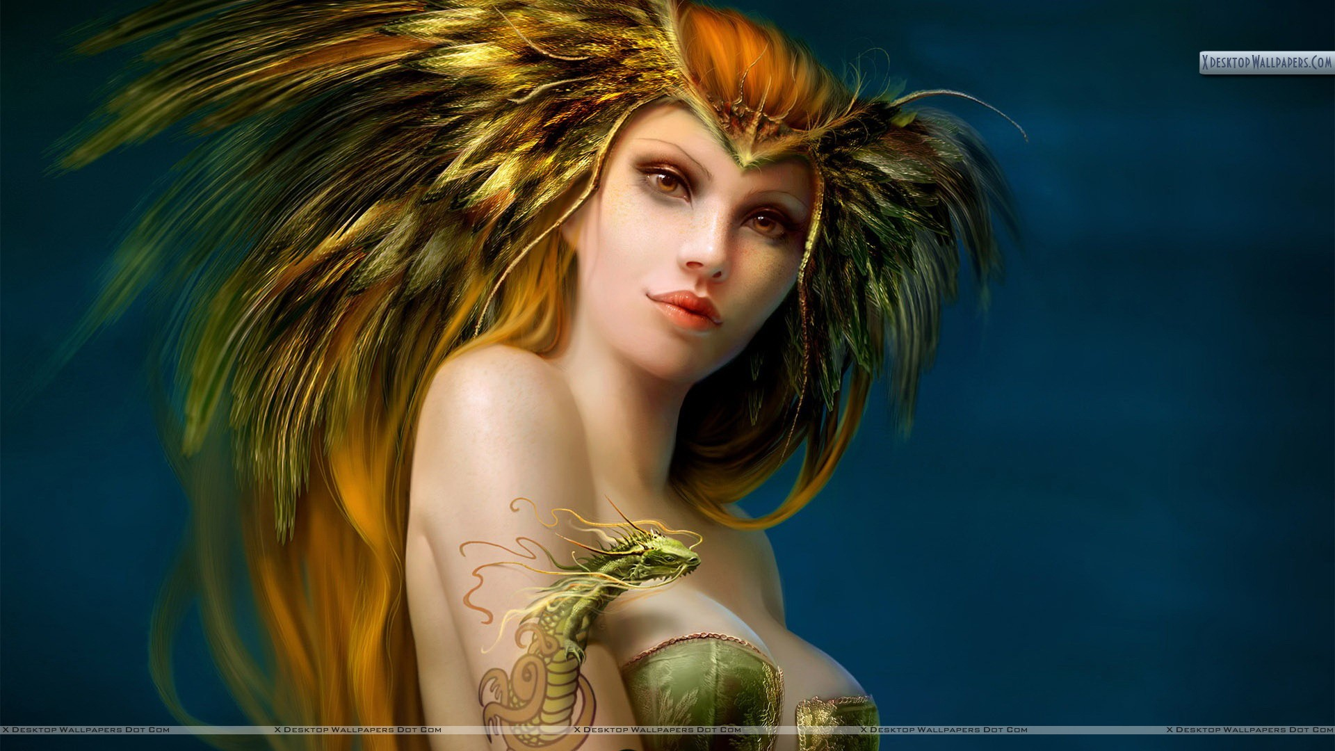 3D Fantasy Woman Download 10 ...
