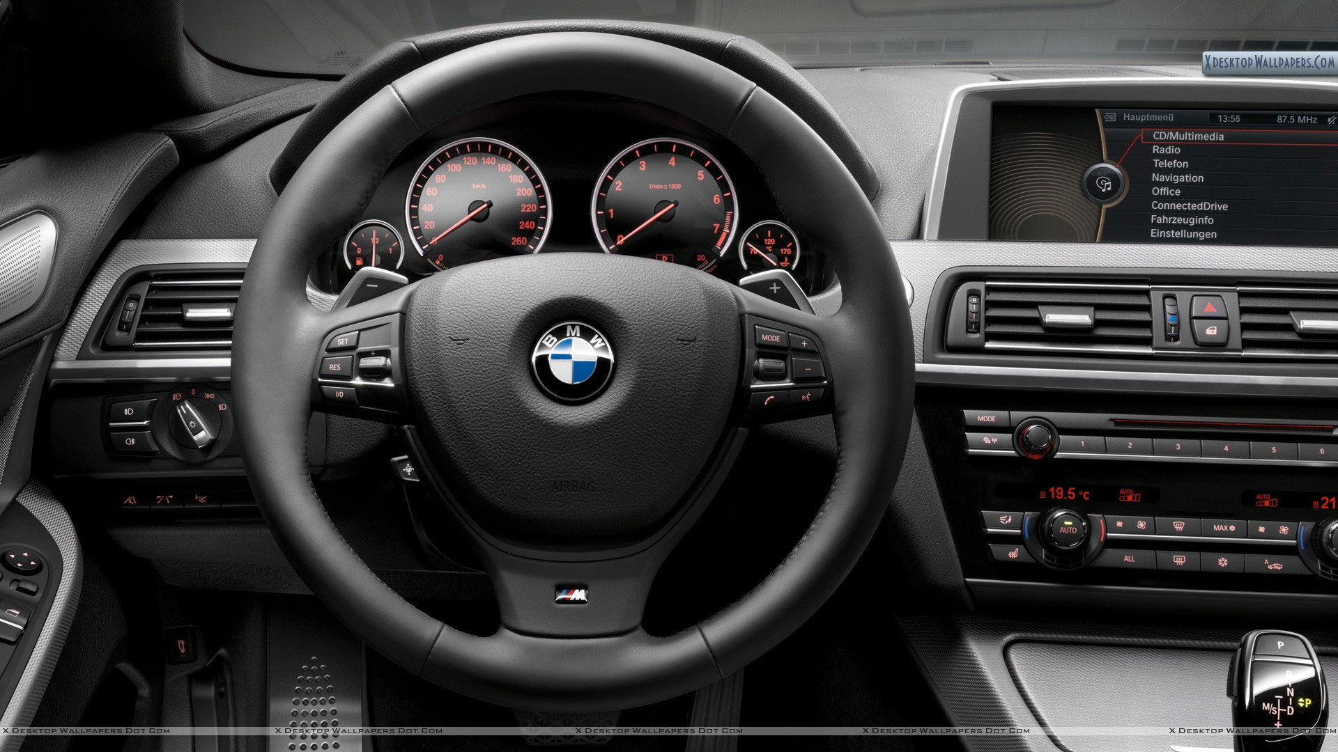 Bmw F12 M Package Interior Dashboard Wallpaper