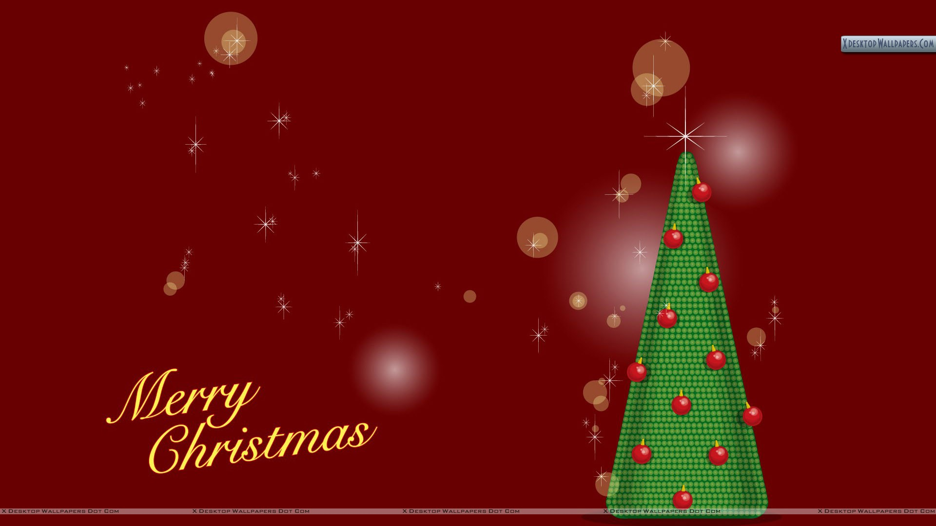You Are Viewing Wallpaper Titled Merry Christmas With Tree