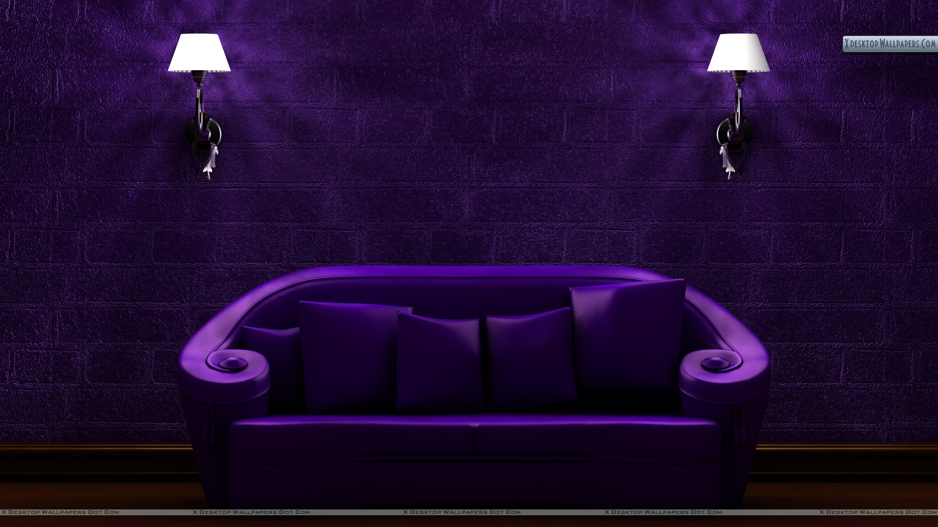 Purple sofa wallpaper for Purple sofa