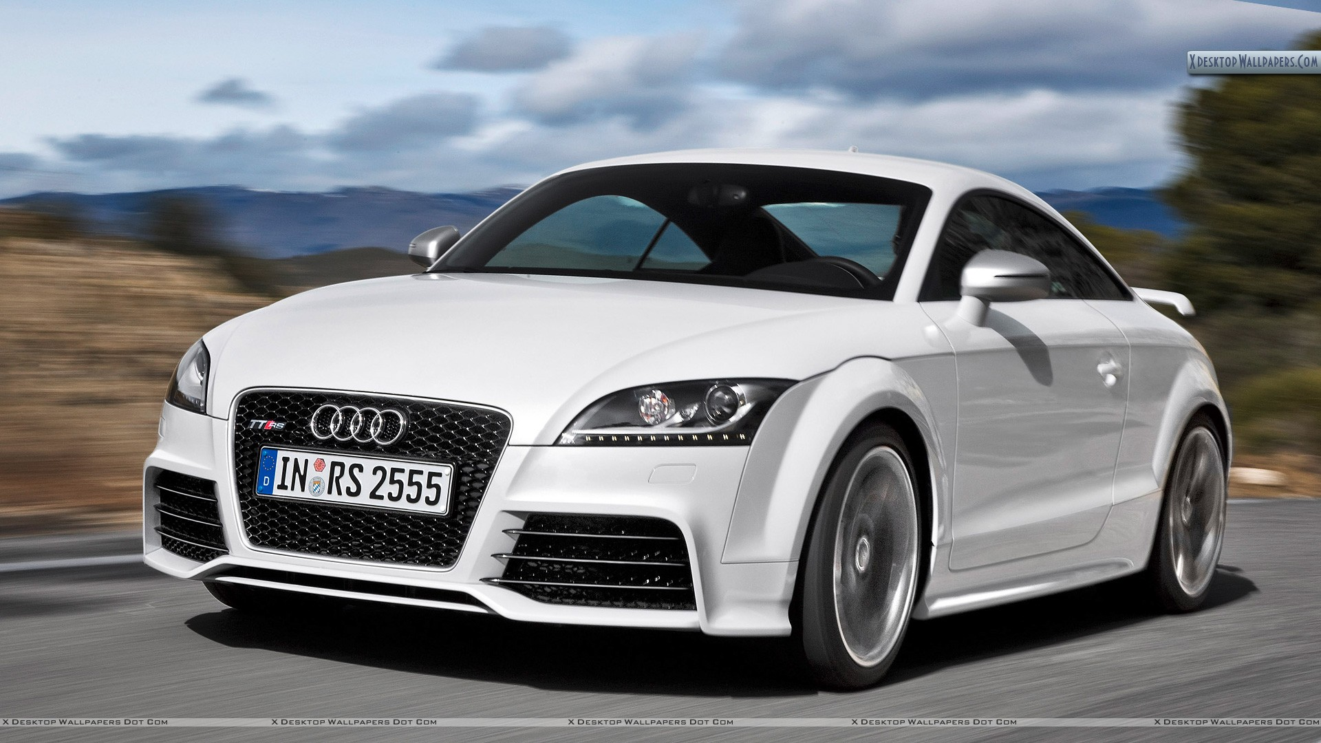 Audi TT RS Race Car