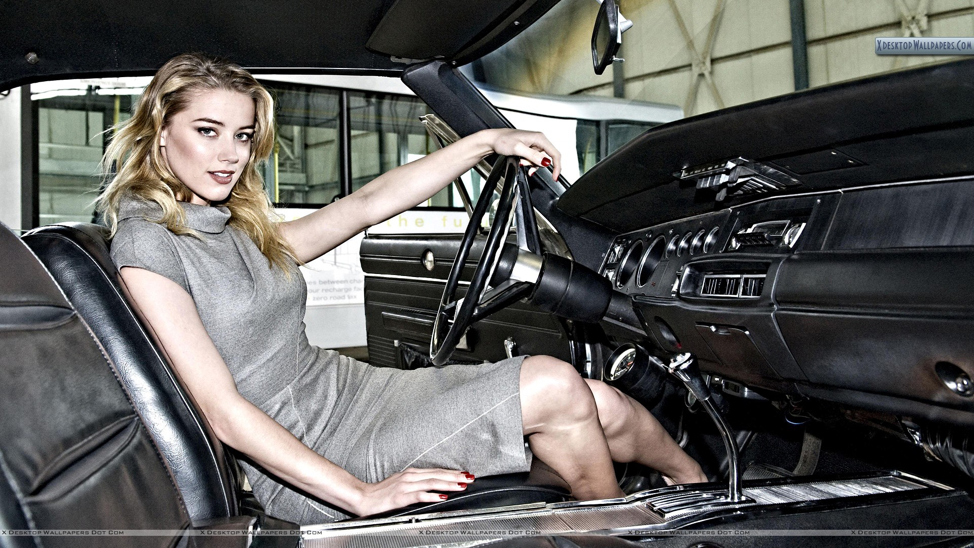 photo of Amber Heard Cadillac - car