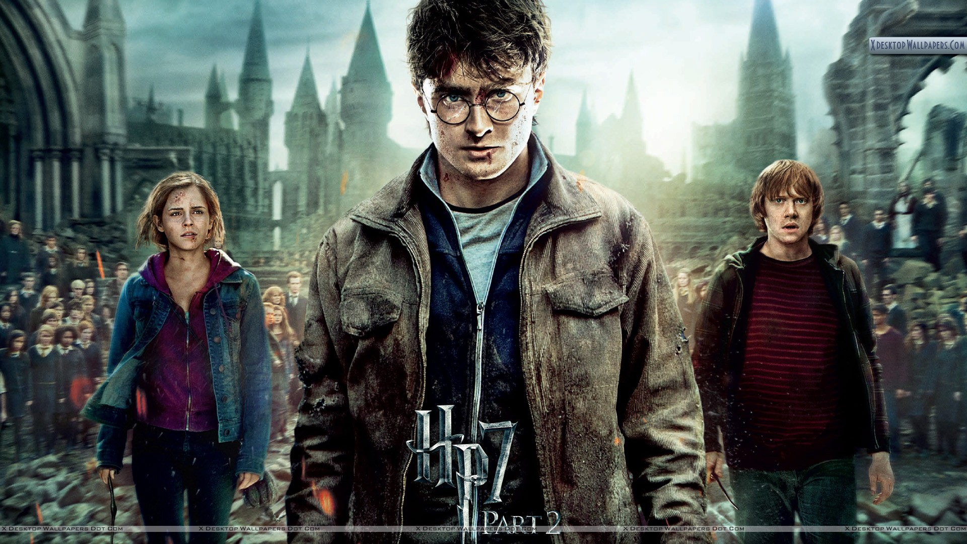 Cover Poster of Harry Potter And The Deathly Hallows ...
