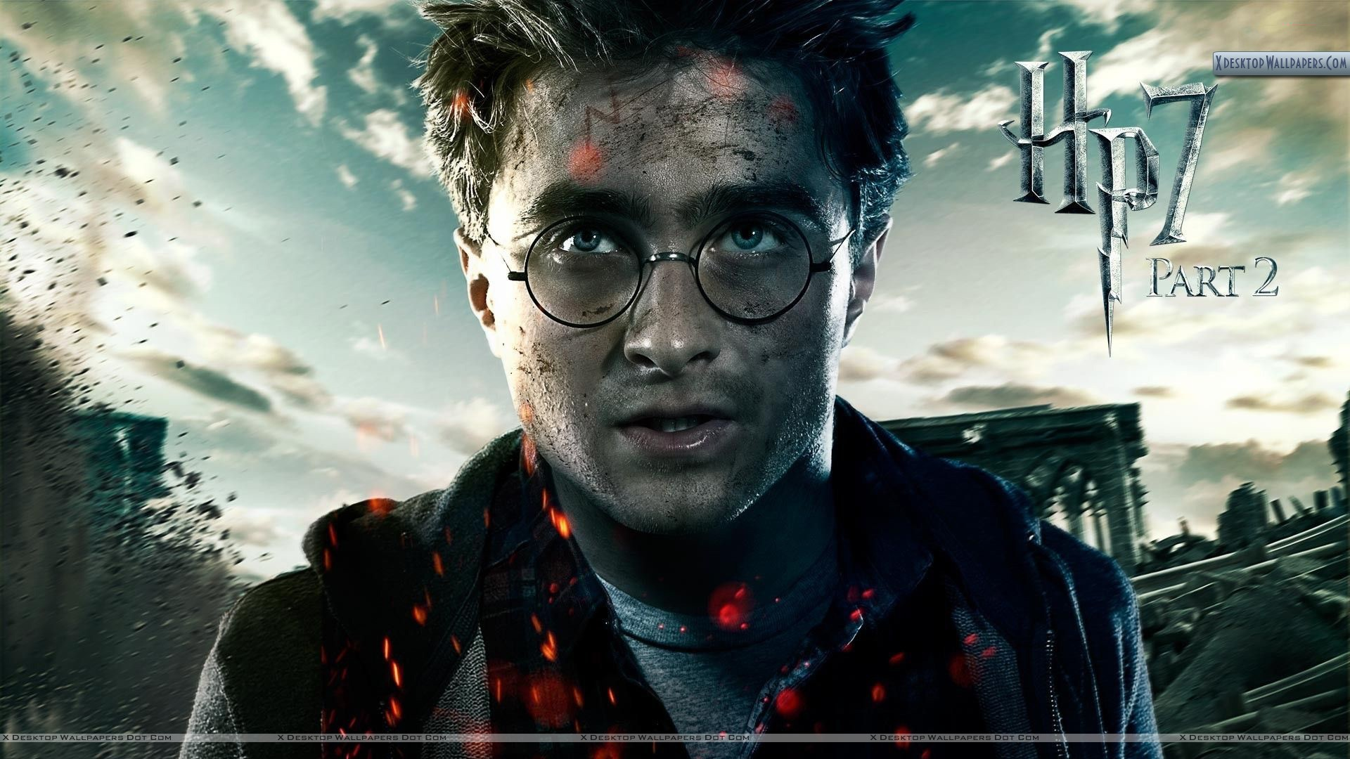 Daniel Radcliffe Harry Potter And The Deathly Hallows Part 2 Hallows Part 2 06 Aug 2011