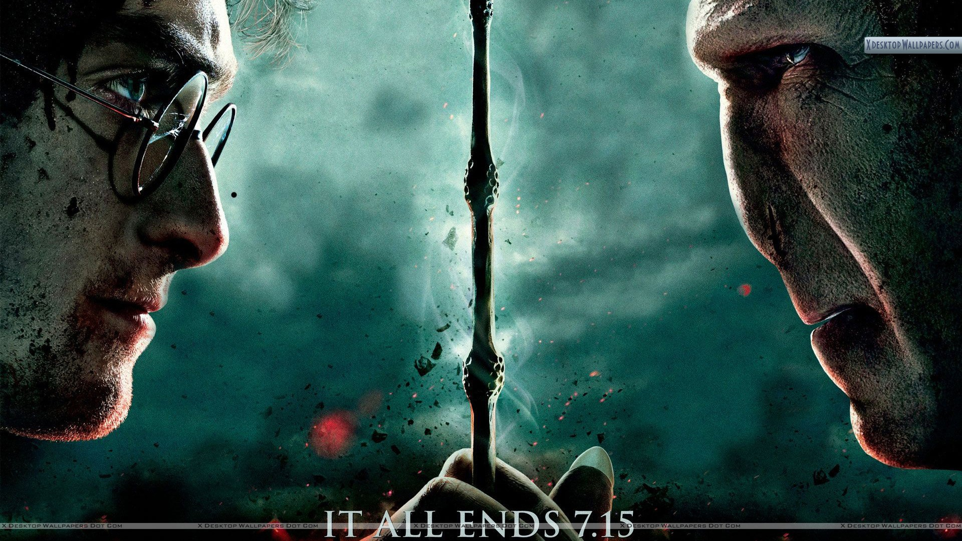 You Are Viewing Wallpaper Titled It All Ends Harry Potter And The Deathly Hallows Part 2