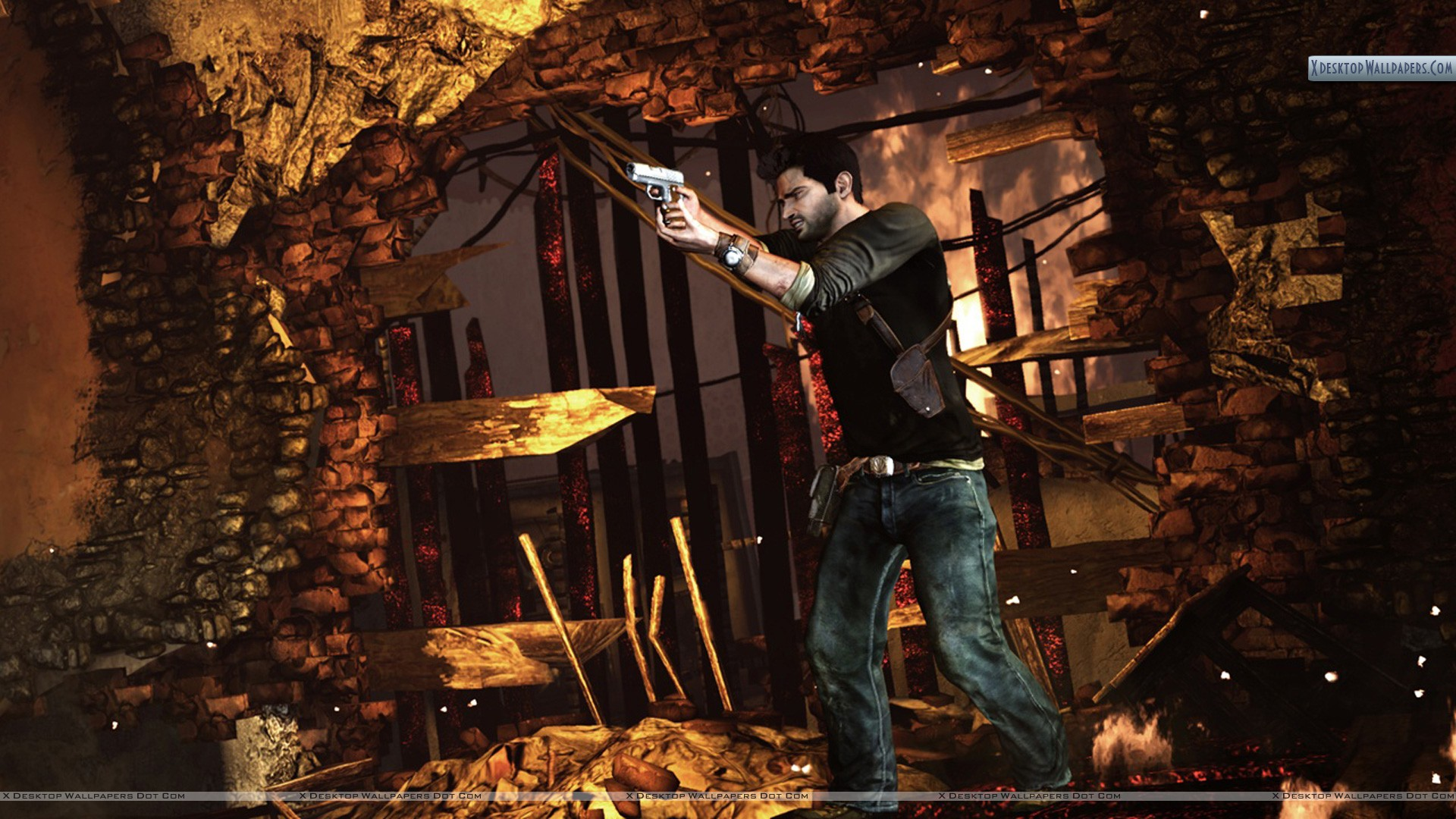 You Are Viewing Wallpaper Titled Uncharted 2