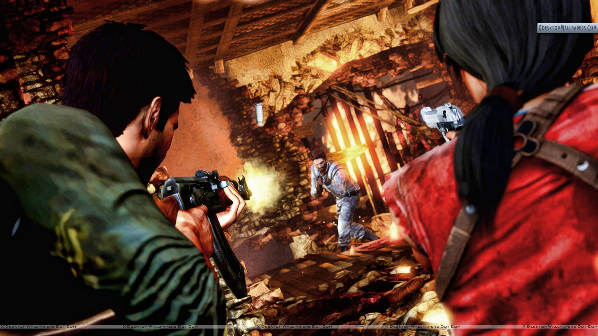 Uncharted 2 Among Thieves Wallpaper