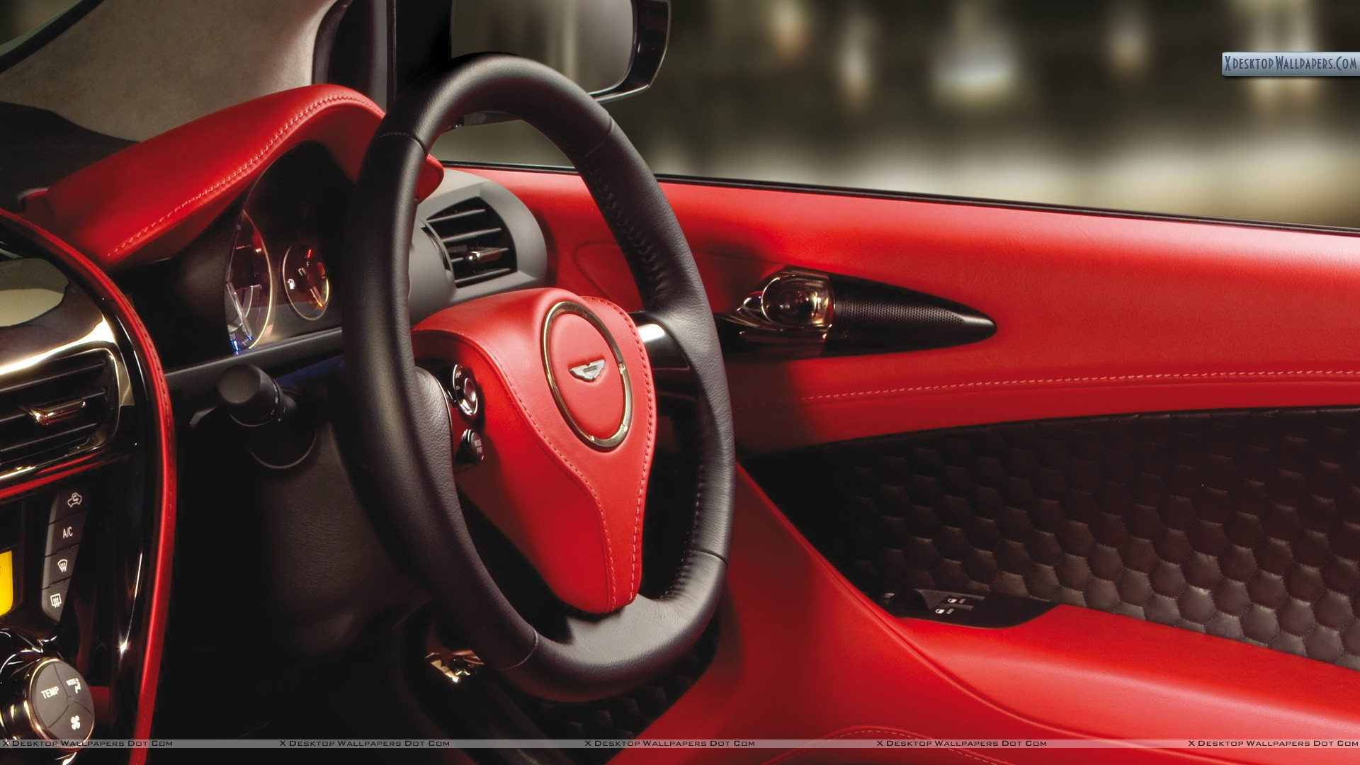 2011 aston martin cygnet interior in red color wallpaper. Black Bedroom Furniture Sets. Home Design Ideas