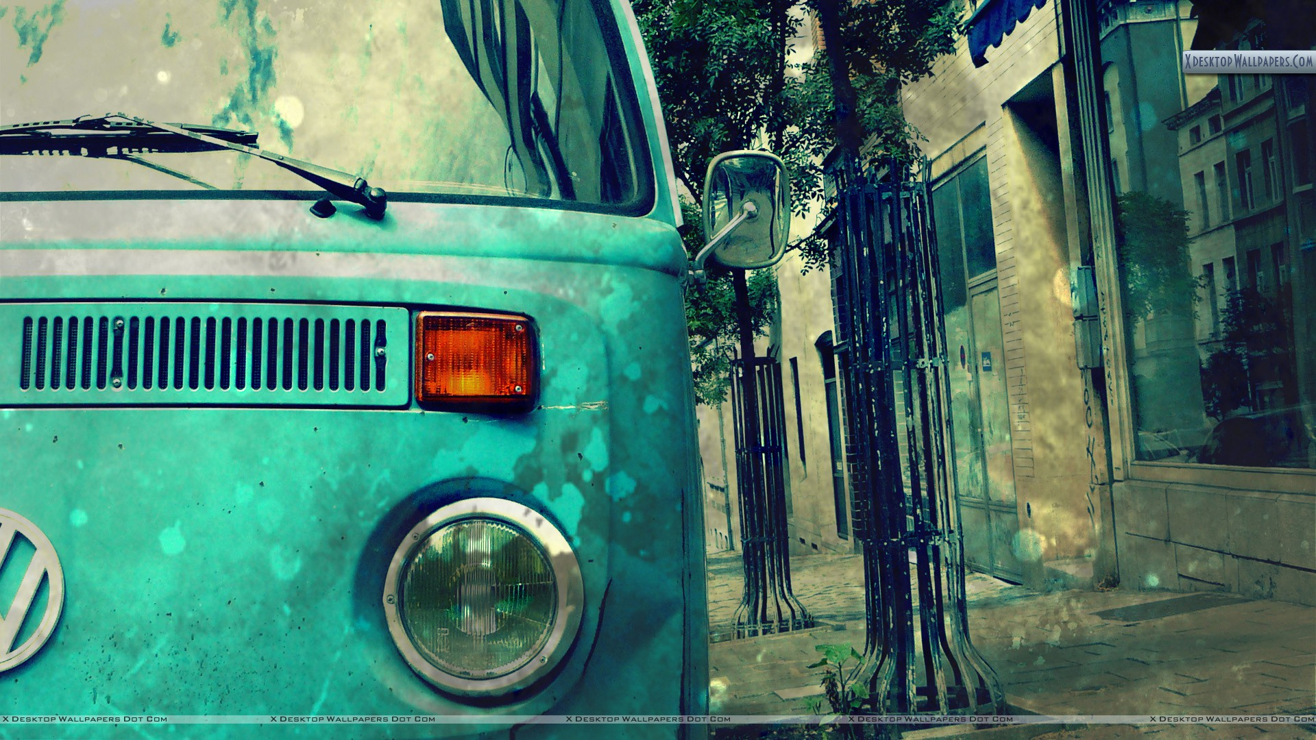 You Are Viewing Wallpaper Titled Van Outside