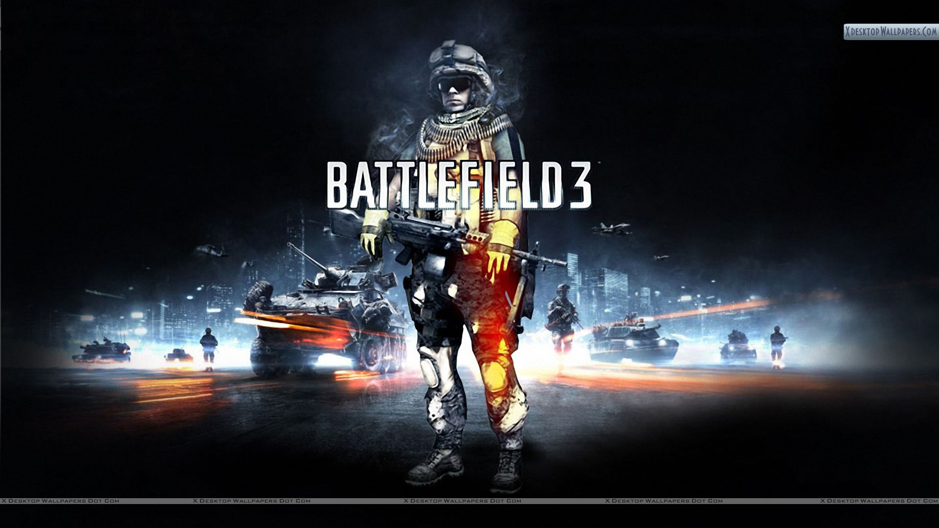 battlefield 3 – poster of a soldier wallpaper