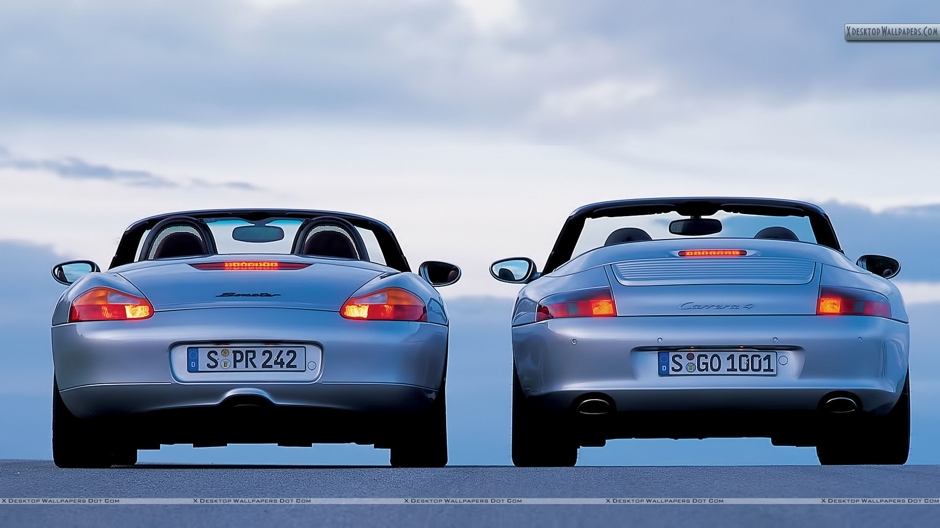 """You are viewing wallpaper titled """"Porsche Boxster ..."""