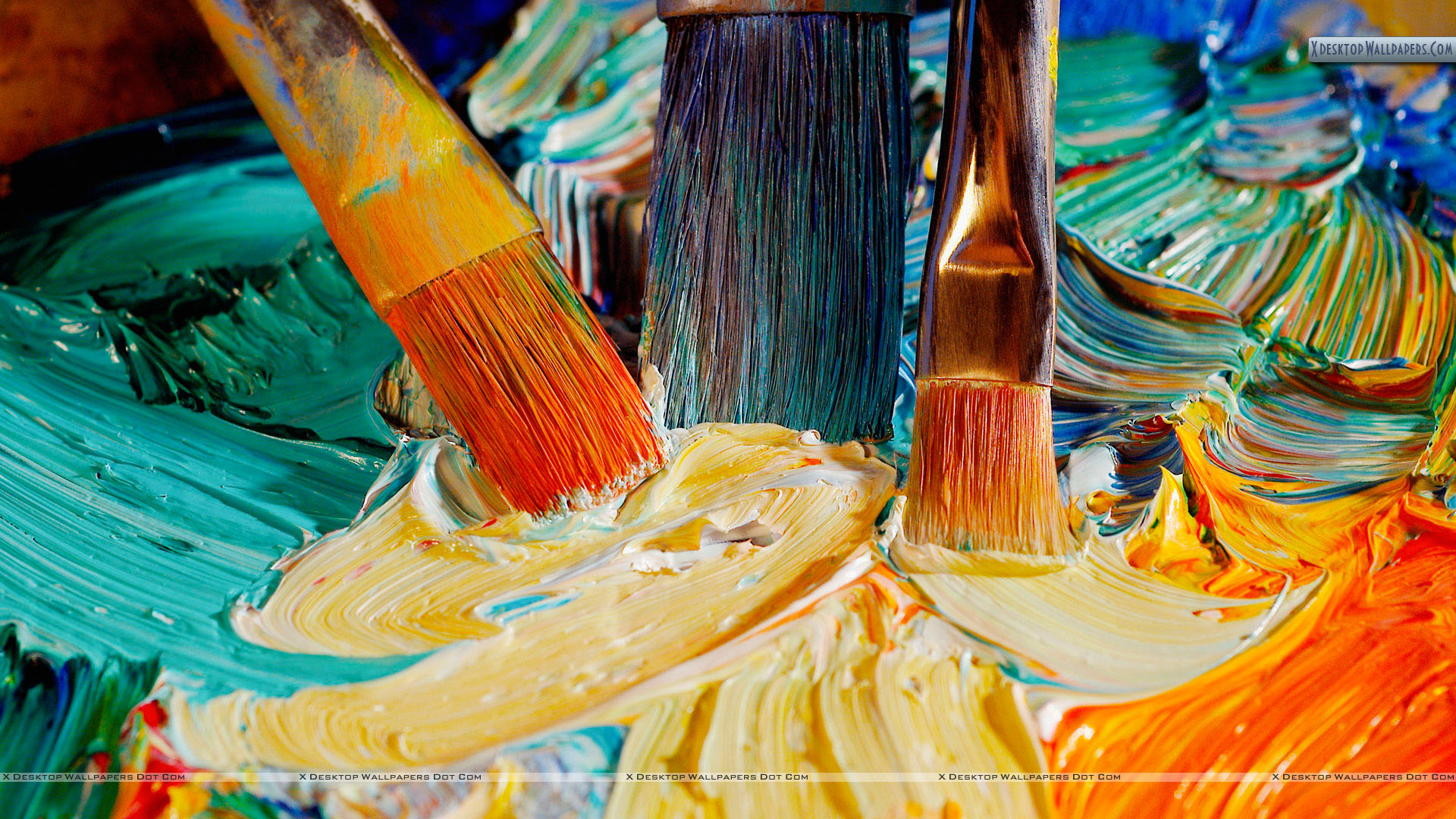 Unusable Painting Colors Wallpaper