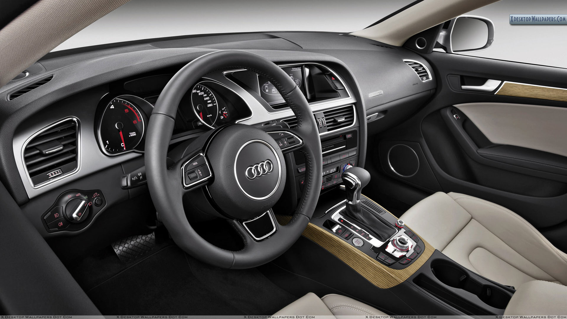 2012 Audi A5 Sportback Interior Picture Wallpaper