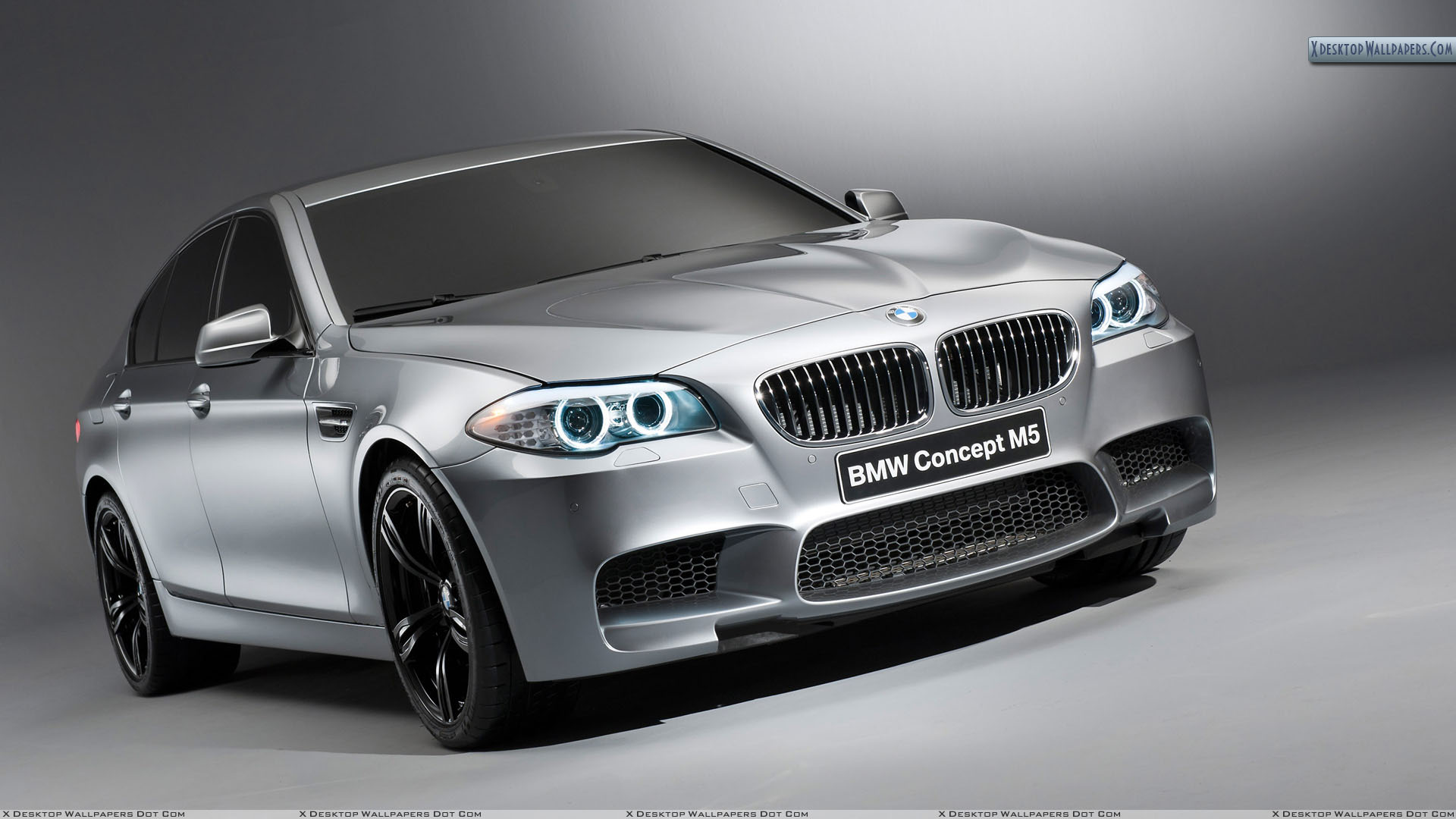 2012 Bmw M5 Concept Side Front View Wallpaper