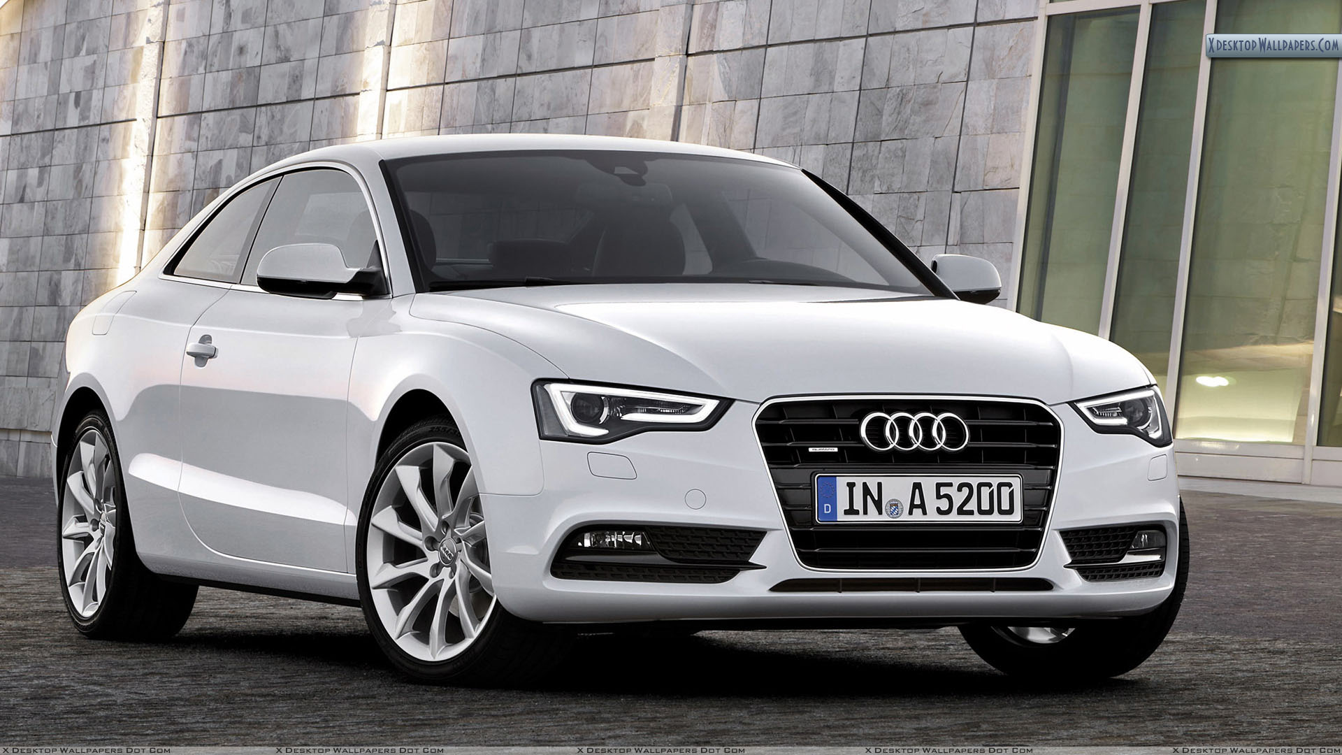Audi A5 Coupe 2012 Front Picture Wallpaper