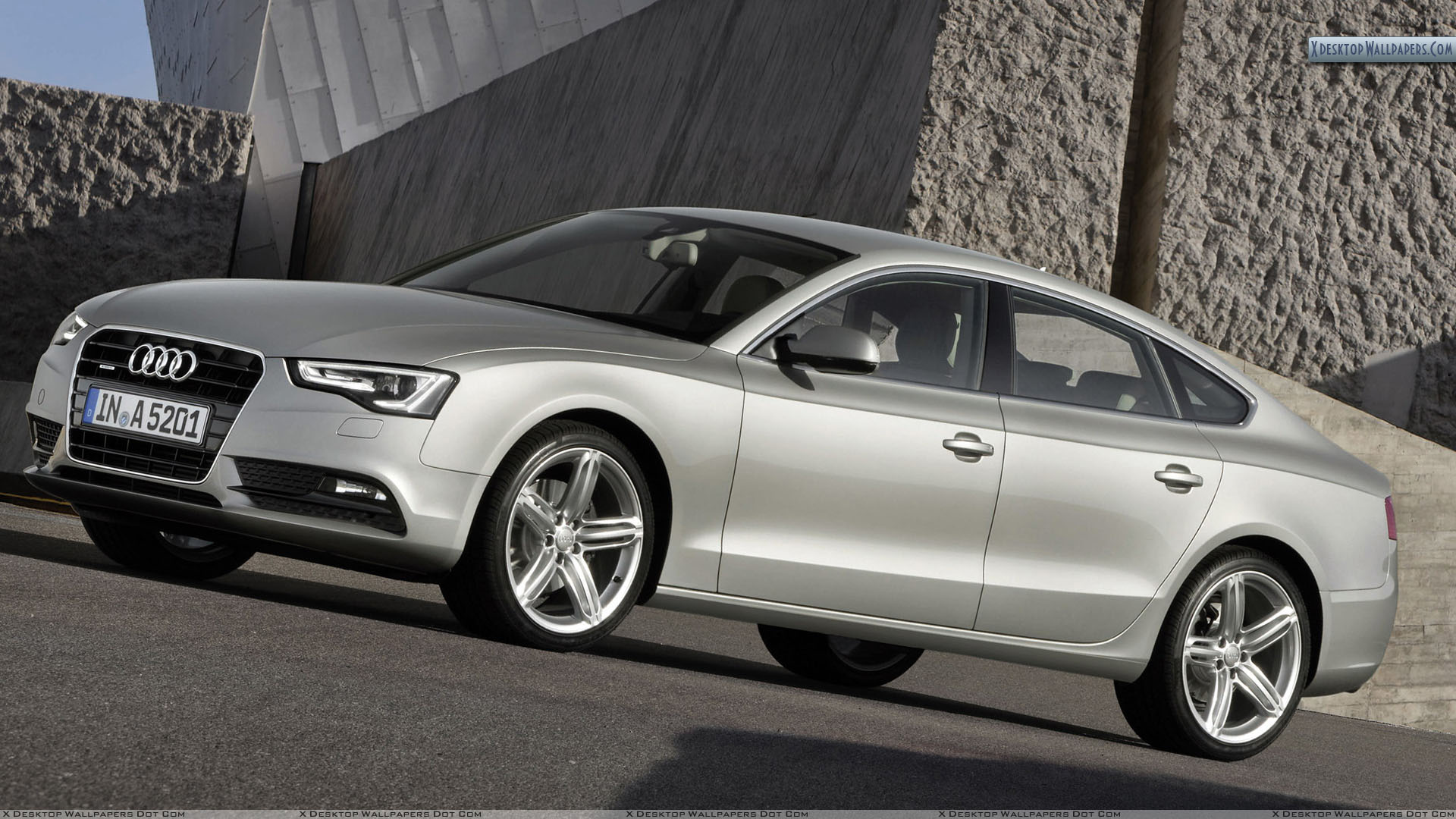 side front pose of 2012 audi a5 sportback wallpaper. Black Bedroom Furniture Sets. Home Design Ideas