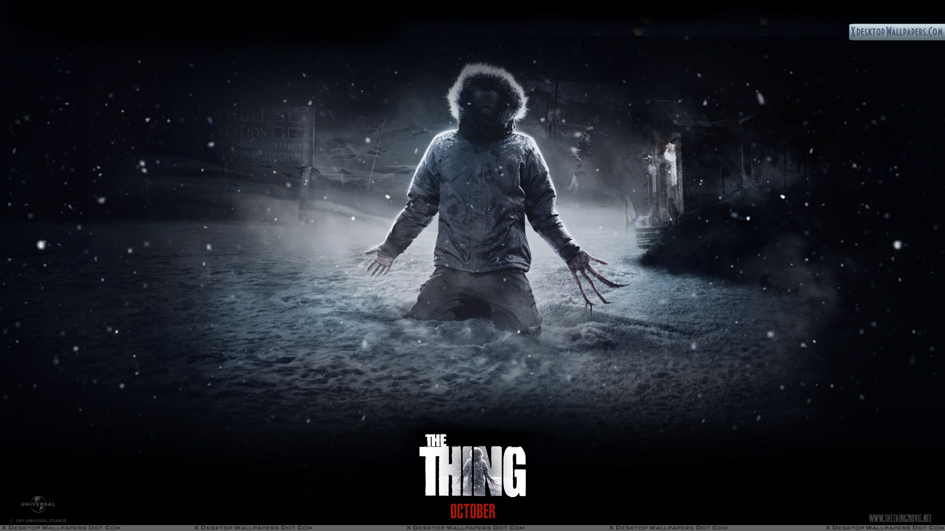 The Thing – I Am Alone Wallpaper