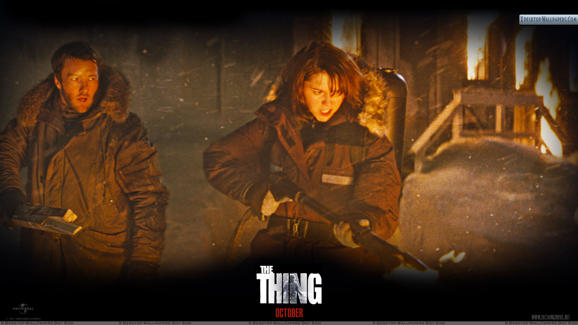 the thing – joel edgerton and mary elizabeth winstead wallpaper