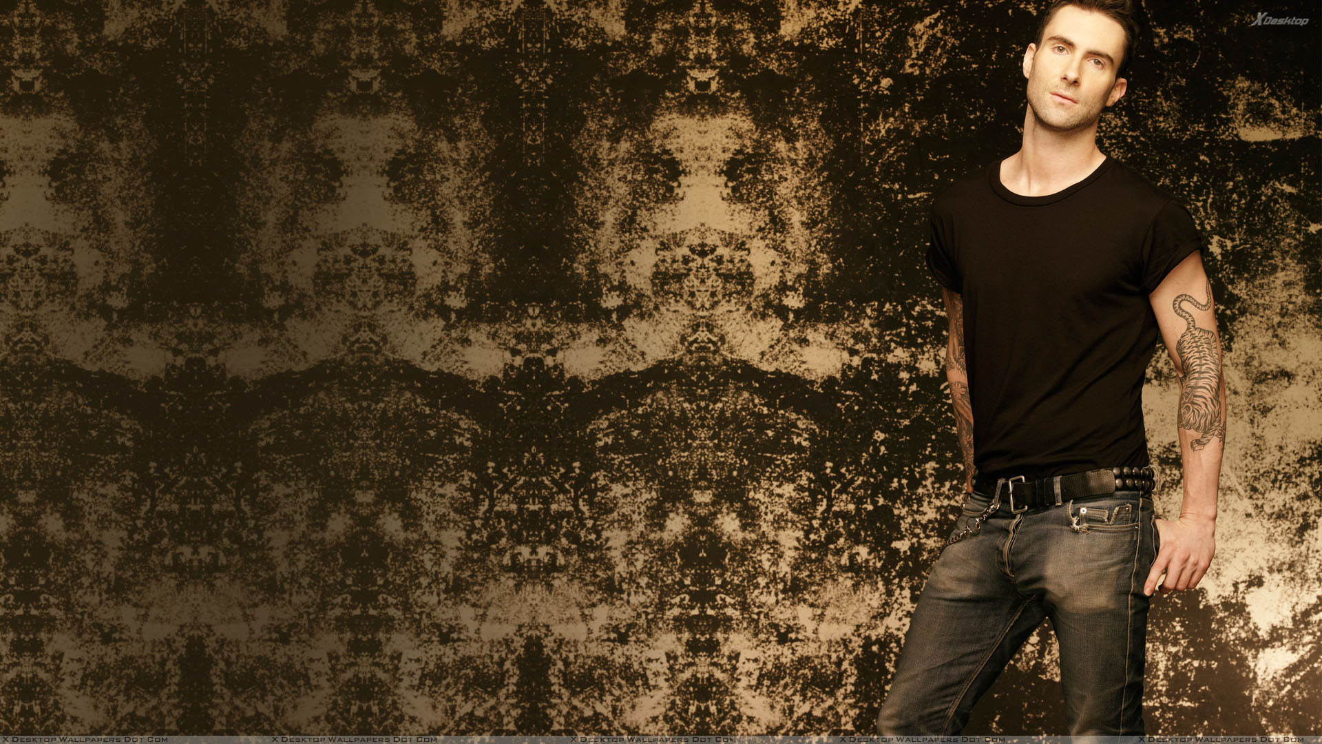 "You are viewing wallpaper titled ""Adam Levine ..."