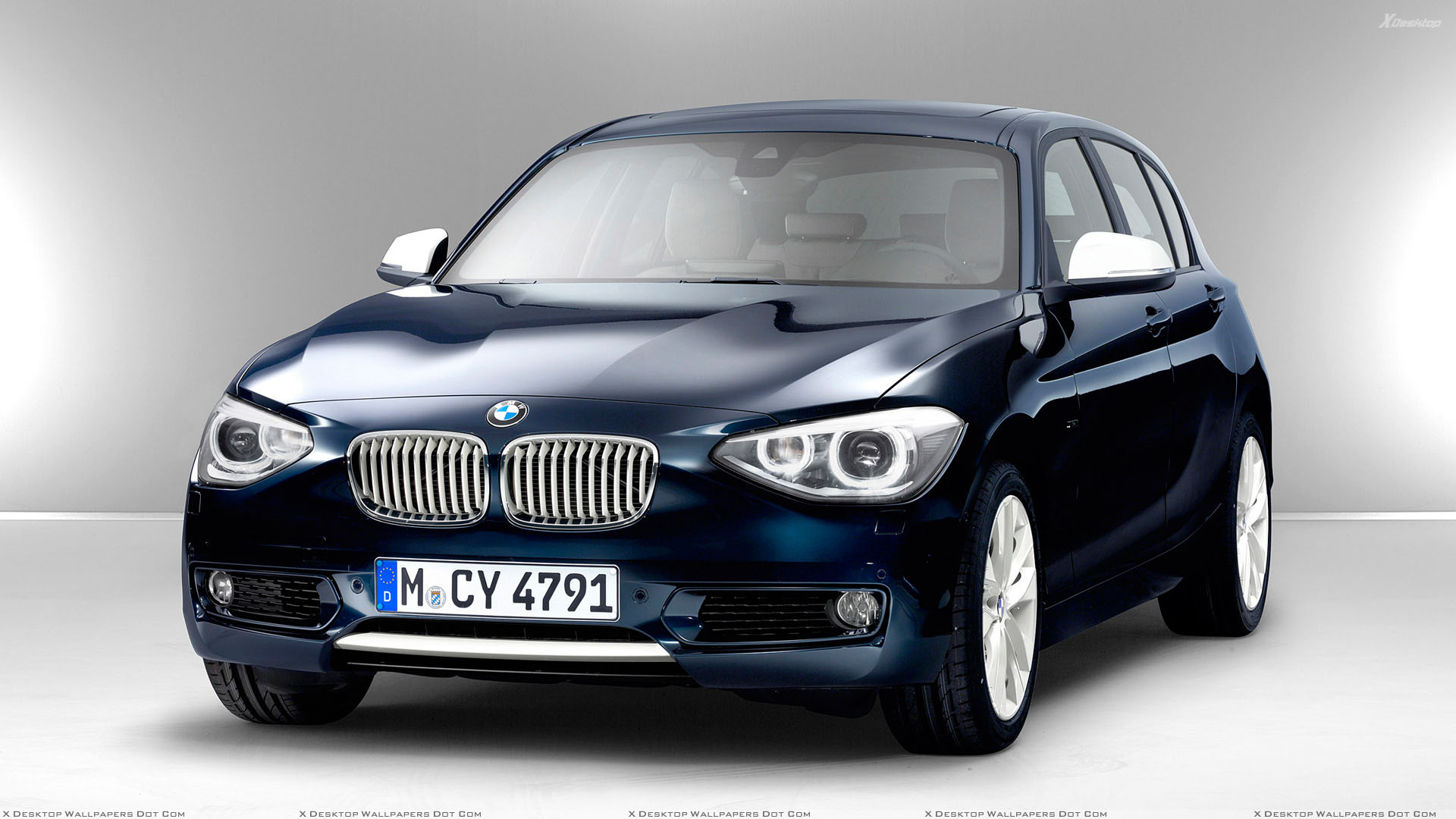 front side pose of 2012 bmw 1 series in blue wallpaper. Black Bedroom Furniture Sets. Home Design Ideas