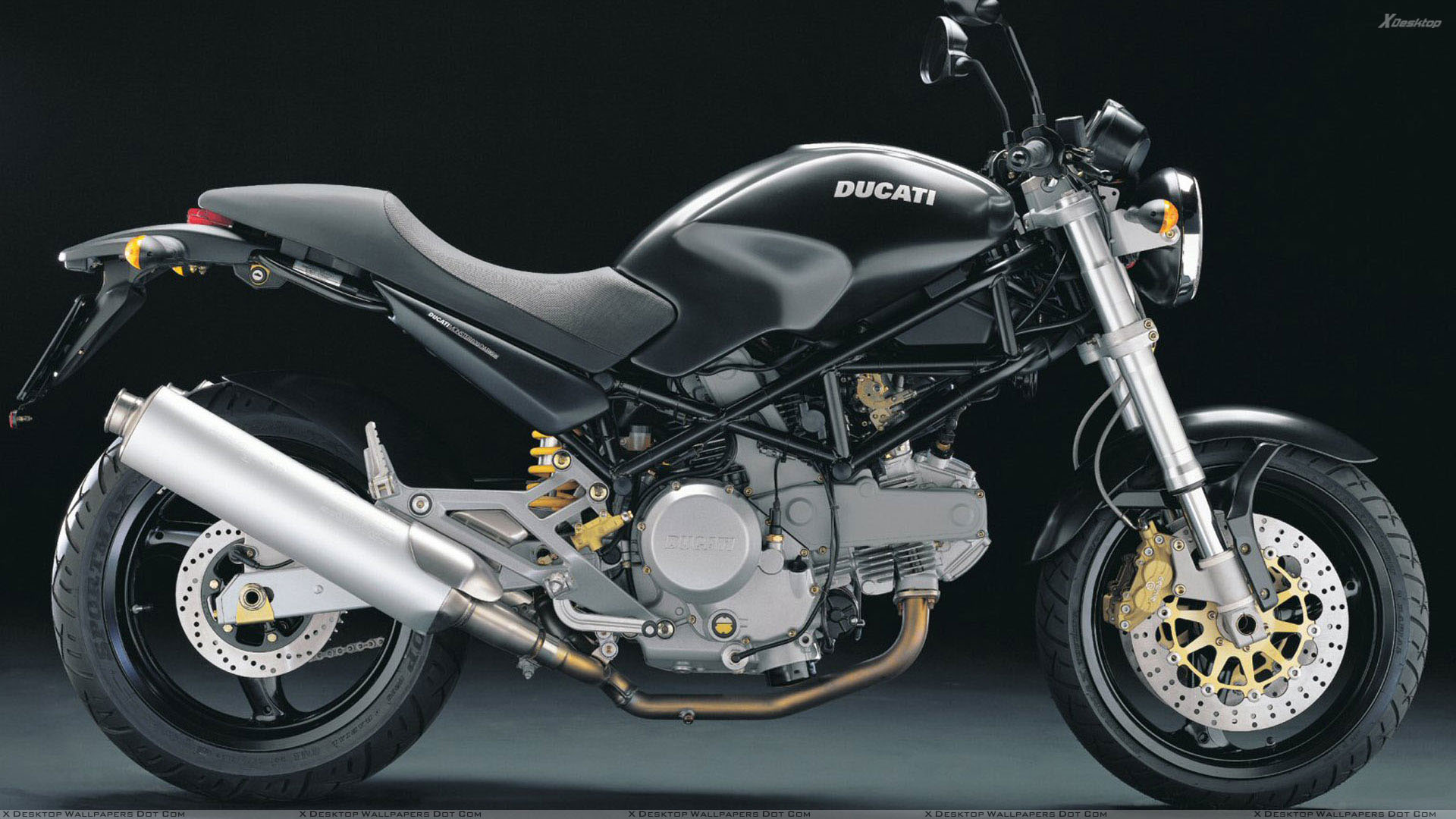 You Are Viewing Wallpaper Titled Side Pose Of Ducati Monster 620
