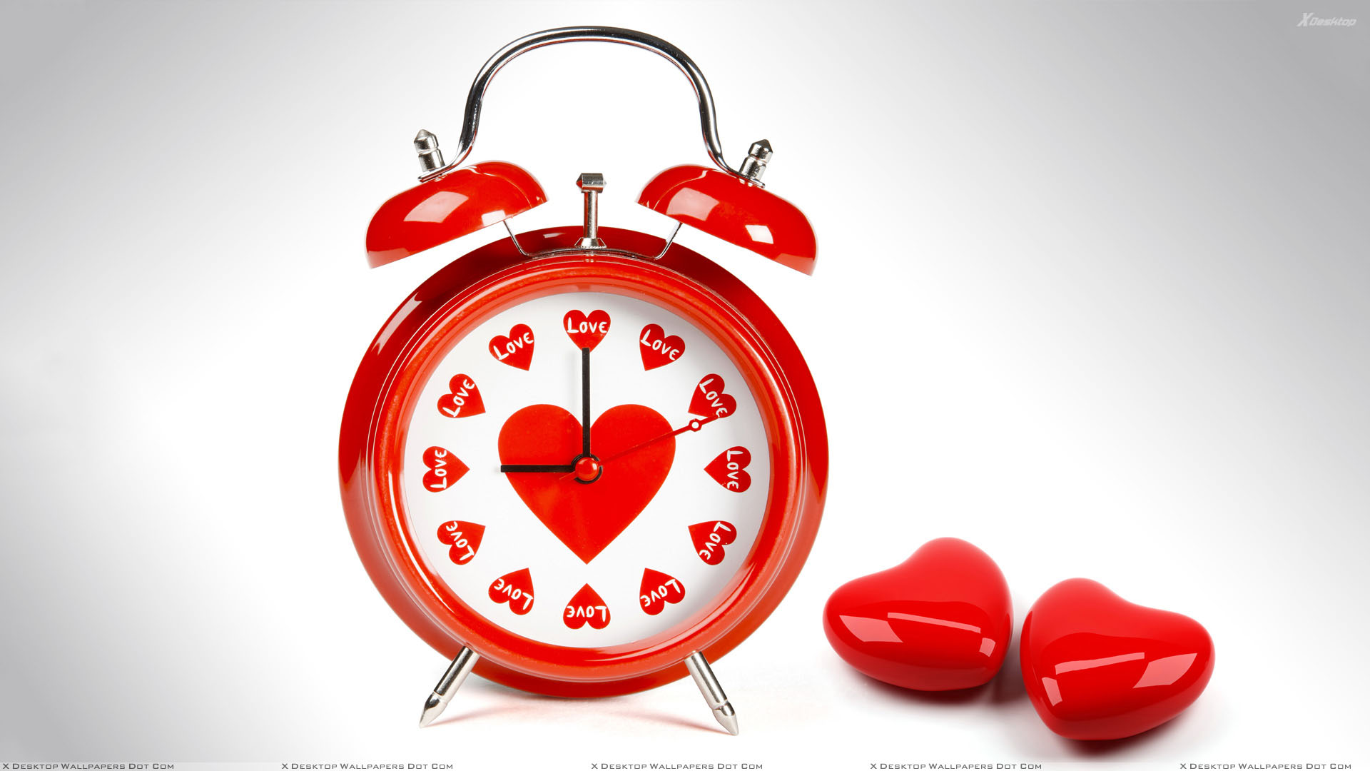 Time To Love And Red Heart Wal...